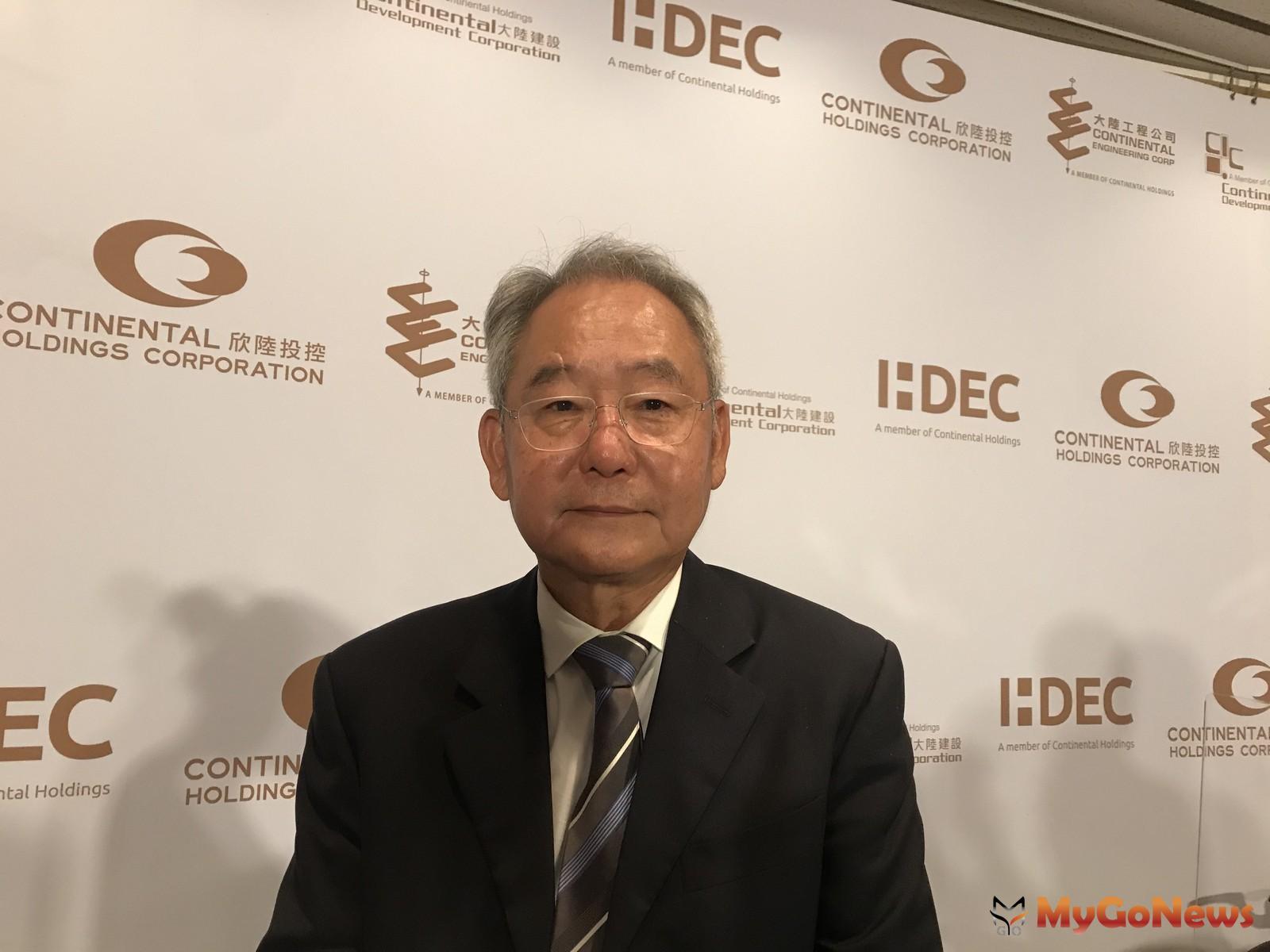 大陸建設董事長張良吉表示,2020推案總金額預估約280億元,將推出4個新案 MyGoNews房地產新聞 市場快訊