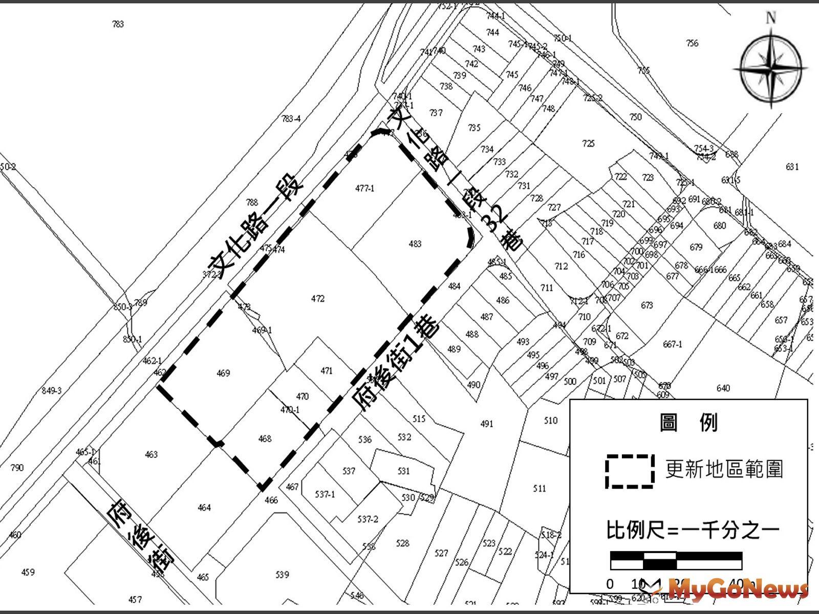 板橋府中段劃定更新地區,結合美學概念,帶動舊城翻轉(圖:新北市政府) MyGoNews房地產新聞 區域情報