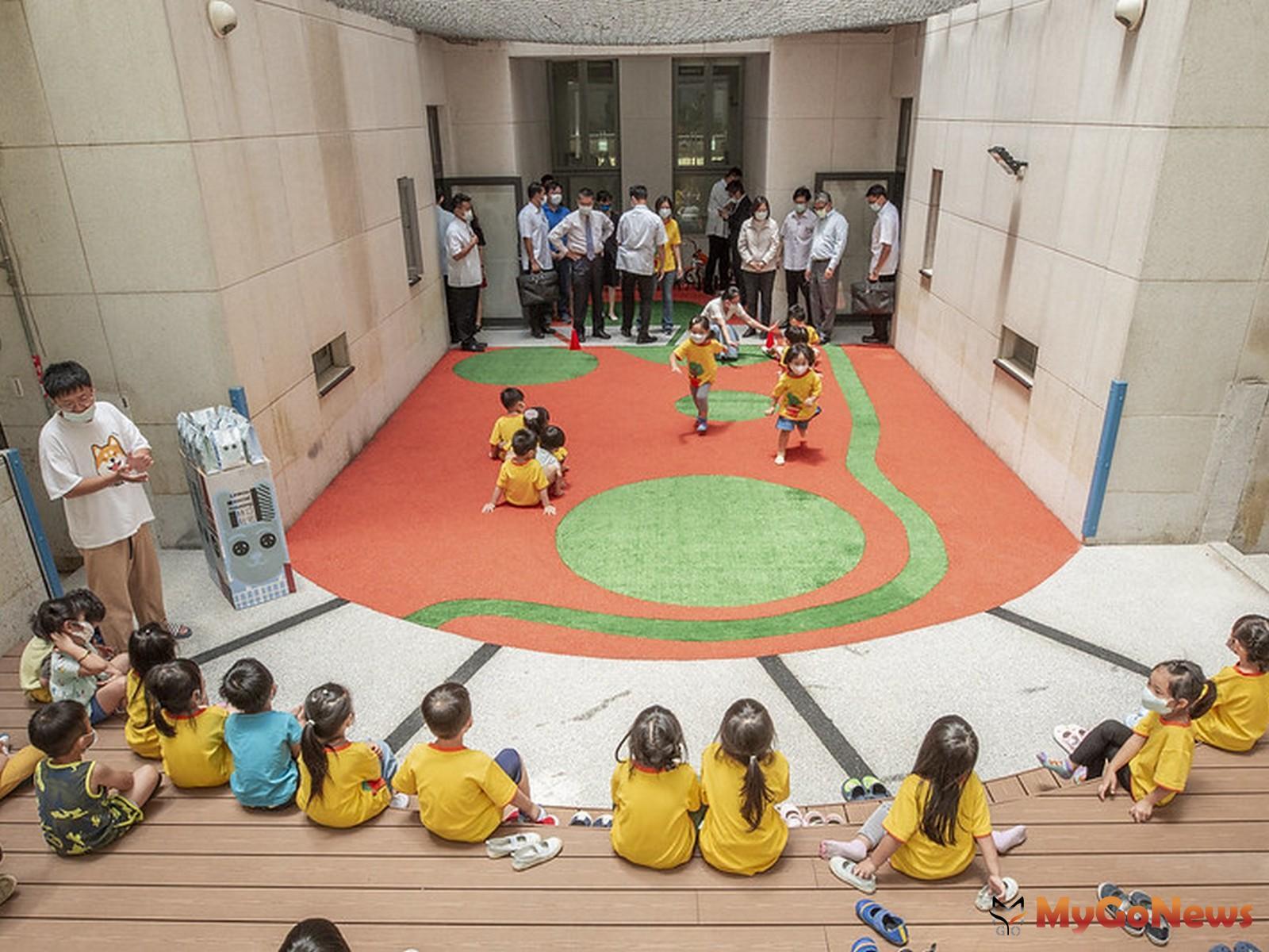 總統肯定林口社會住宅有好的生活環境,完整的社會照顧系統,是台灣社會住宅的典範(圖:總統府) MyGoNews房地產新聞 市場快訊