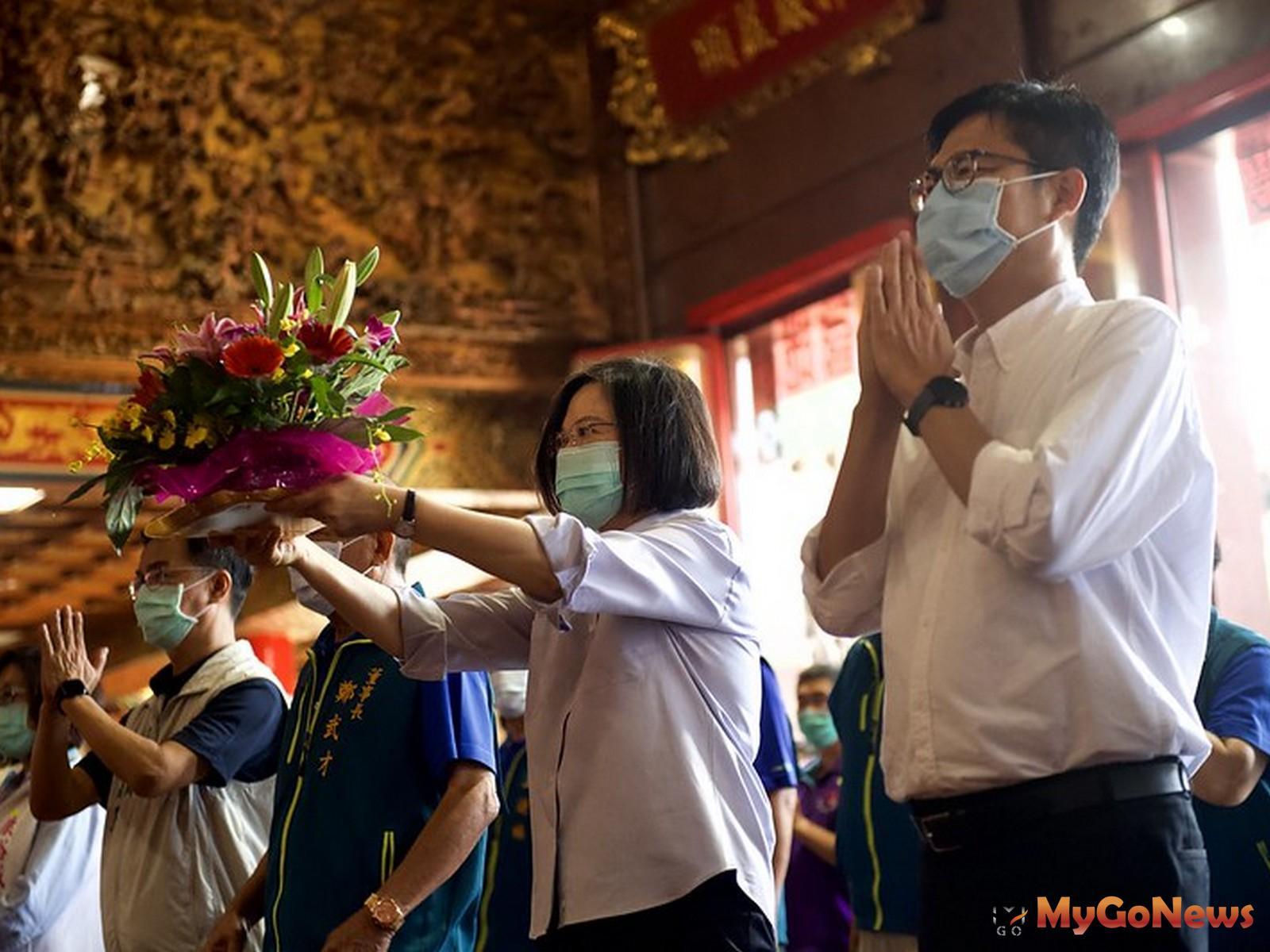 蔡英文總統:中央地方齊心努力,讓高雄轉型,成為台灣下個世代發展的重鎮(圖:總統府) MyGoNews房地產新聞 區域情報