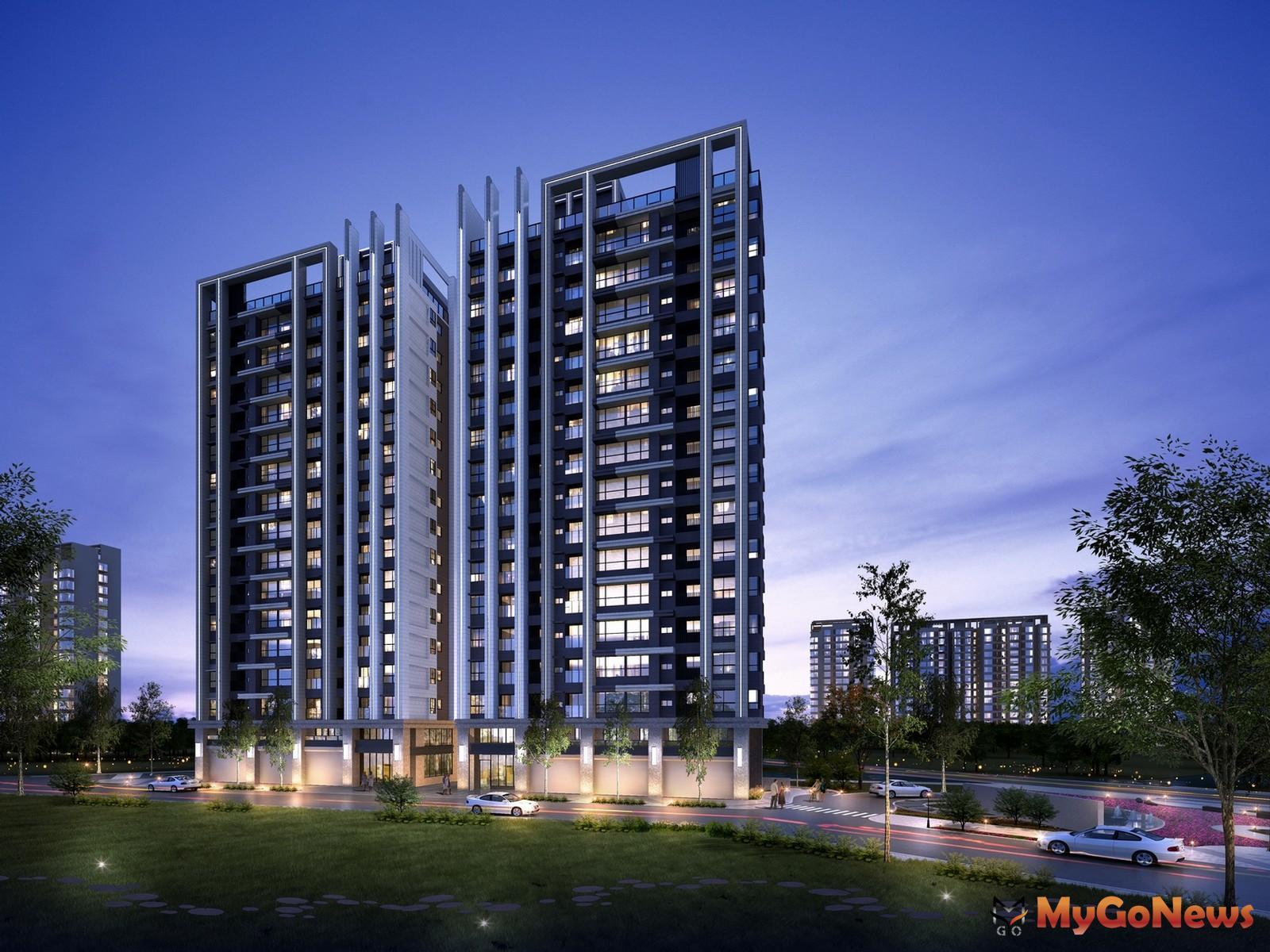 「關渡左岸-天湛」基地面積約983坪,規劃AB兩棟地上15樓、地下3樓的耐震建築(圖:業主提供) MyGoNews房地產新聞 熱銷推案