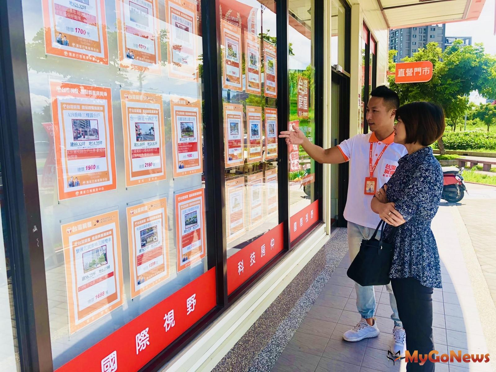 根據台灣房屋內部成交資料統計顯示,近3年購屋座向的變化,帝王座向-「座北朝南」減少4個百分點(圖:台灣房屋)。 MyGoNews房地產新聞 市場快訊