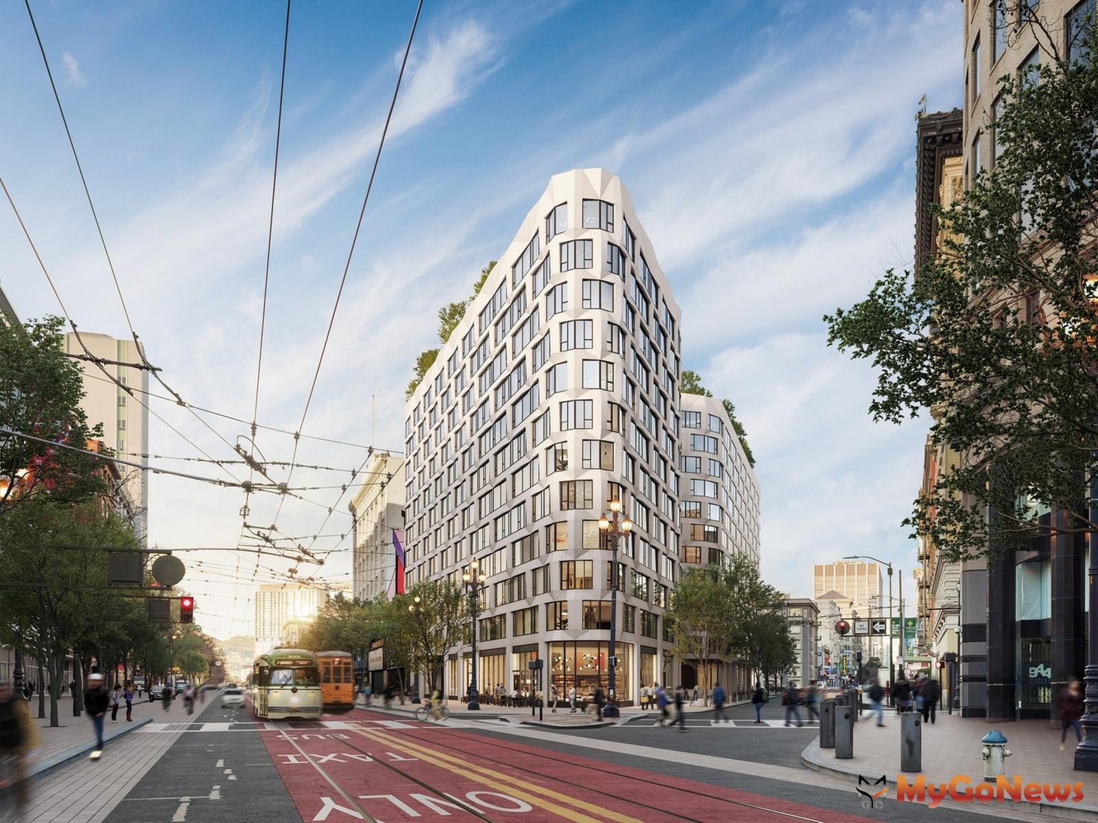 大陸建設首度揮軍美國市場 百億大案受矚目,尚芮公寓SERIF 3D模擬示意圖(圖:業者提供) MyGoNews房地產新聞 熱銷推案