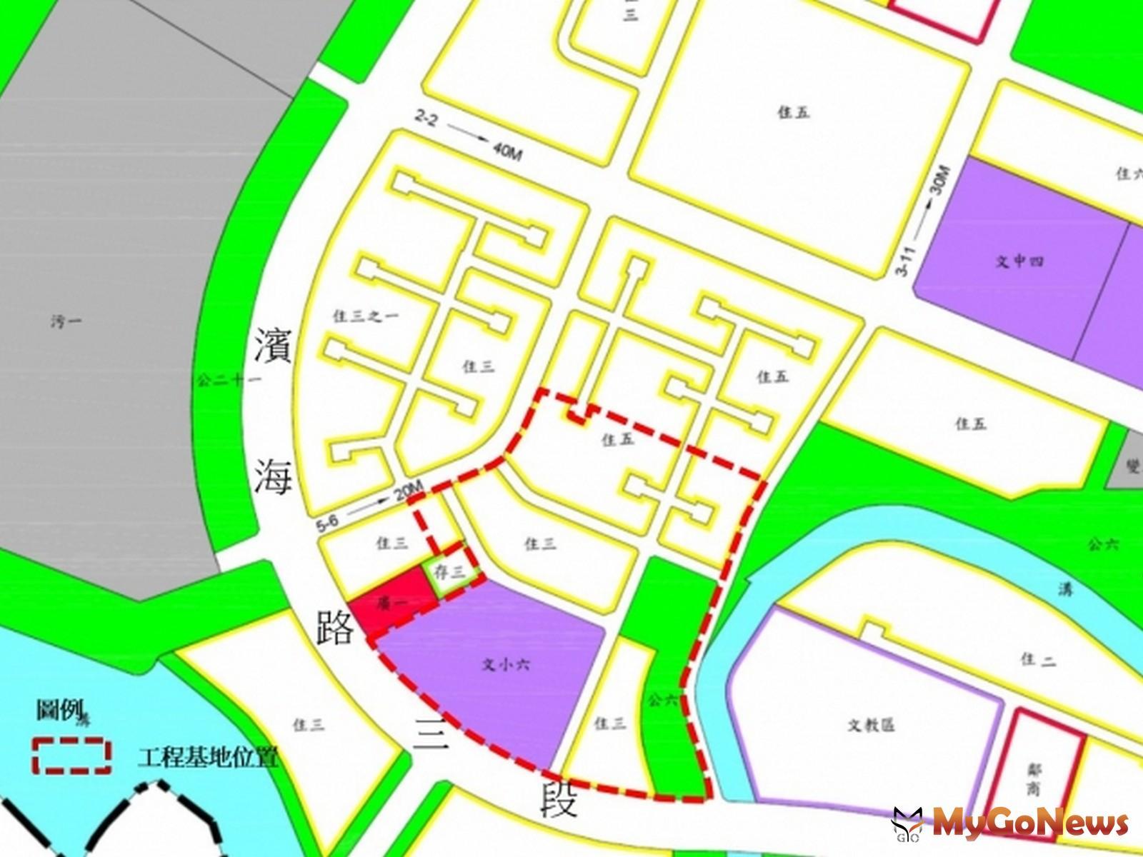 積極辦理淡海新市鎮「港平營區」舊址公共工程,完成第1期發展區最後一塊拼圖,國防部2020年完成搬遷並點交(圖/營建署) MyGoNews房地產新聞 區域情報