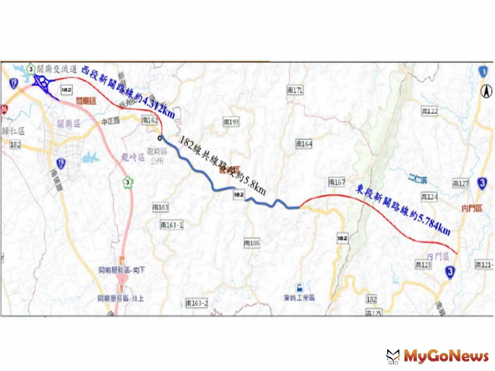 台南市重大交通工程再添一樁-台86線向東延伸至台3線道路新闢案正式核定(圖/台南市政府) MyGoNews房地產新聞 區域情報