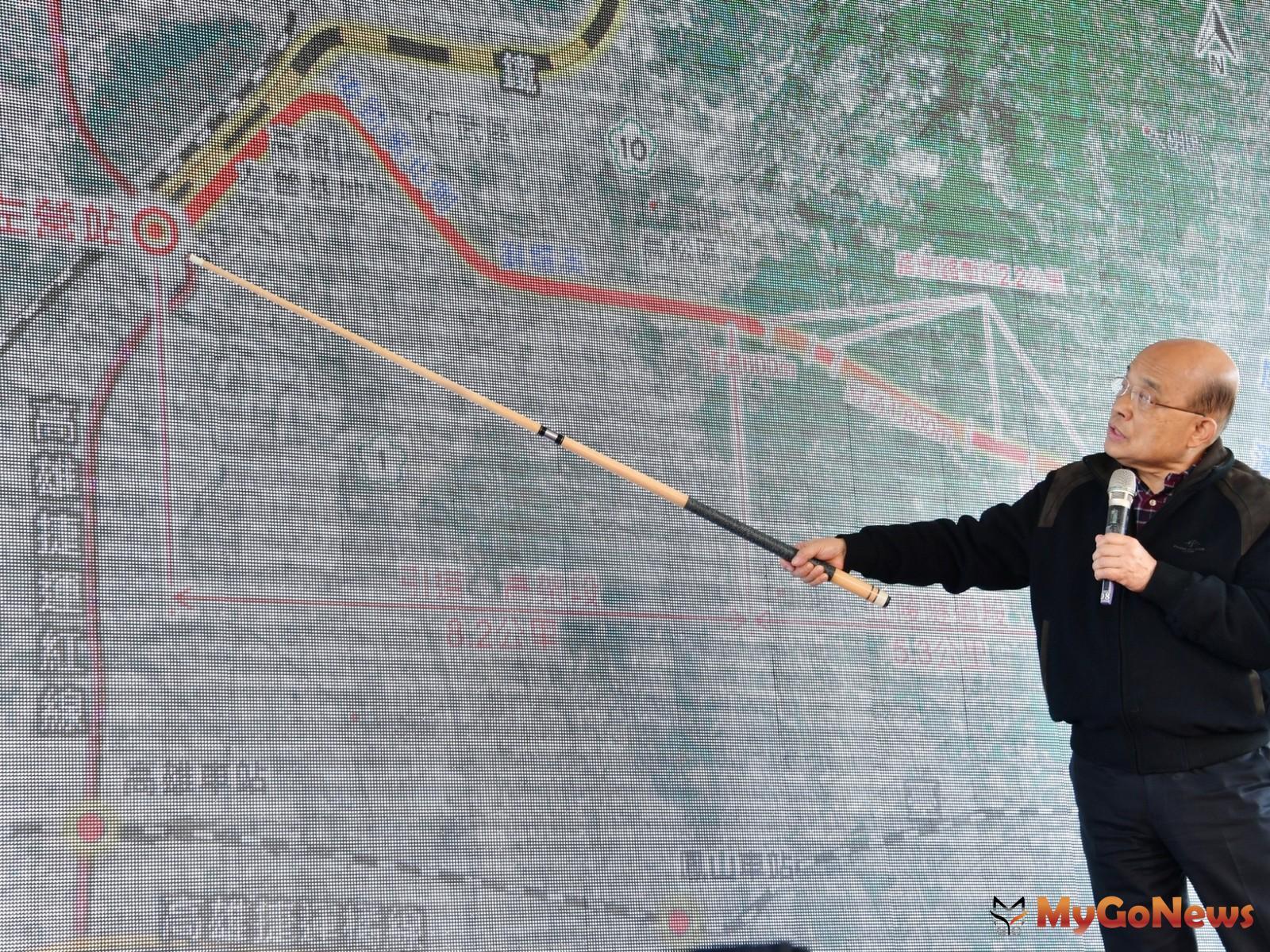 蘇揆:高鐵南延屏東並設置科學園區 全島串連讓台灣大發展(圖/行政院) MyGoNews房地產新聞 市場快訊