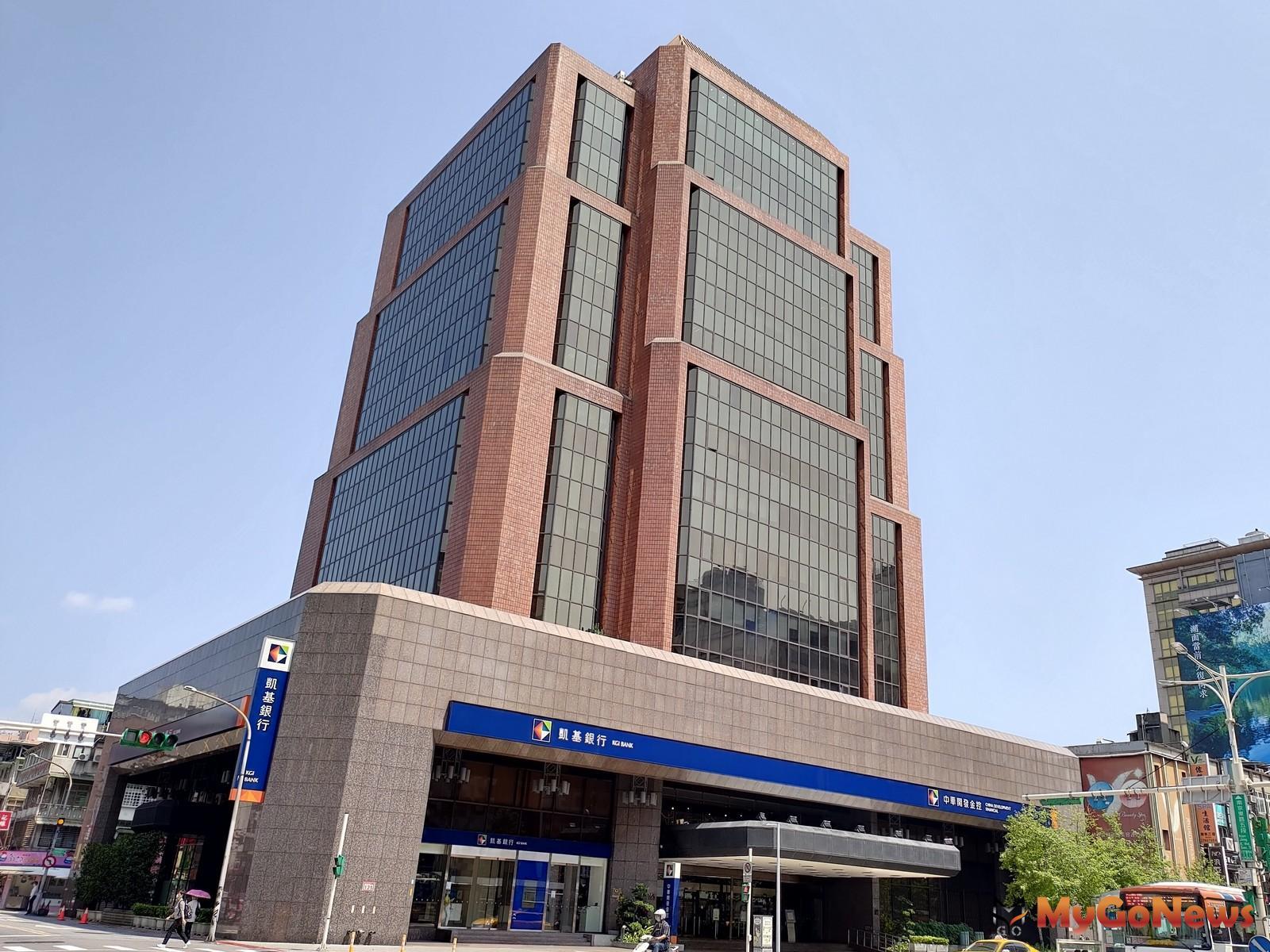 台北市東區地標中華開發大樓2021年元月精彩開紅盤!新光人壽保險以新台幣92億8,880萬元得標!(圖/戴德梁行) MyGoNews房地產新聞 市場快訊
