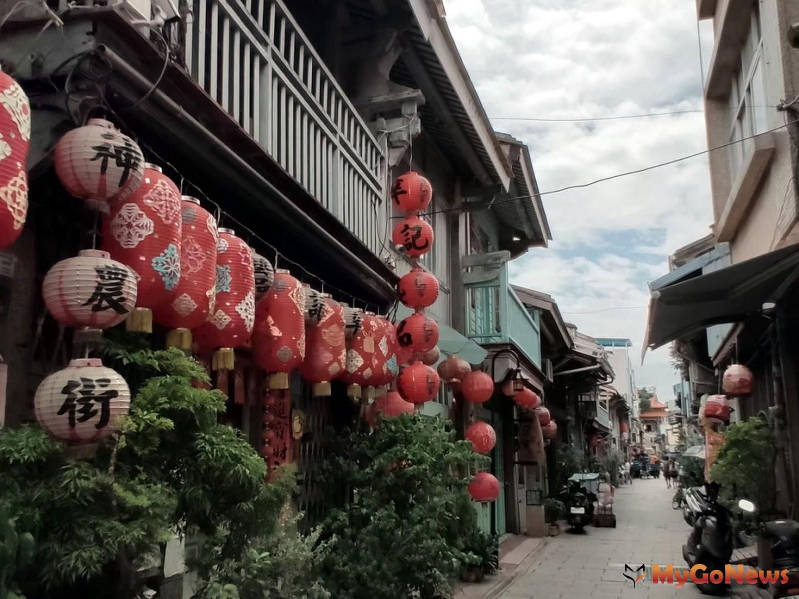 台南巷弄老屋,接連打造成特色文創商店,形成一個又一個的特色老街(圖-台灣房屋集團)  MyGoNews房地產新聞 市場快訊