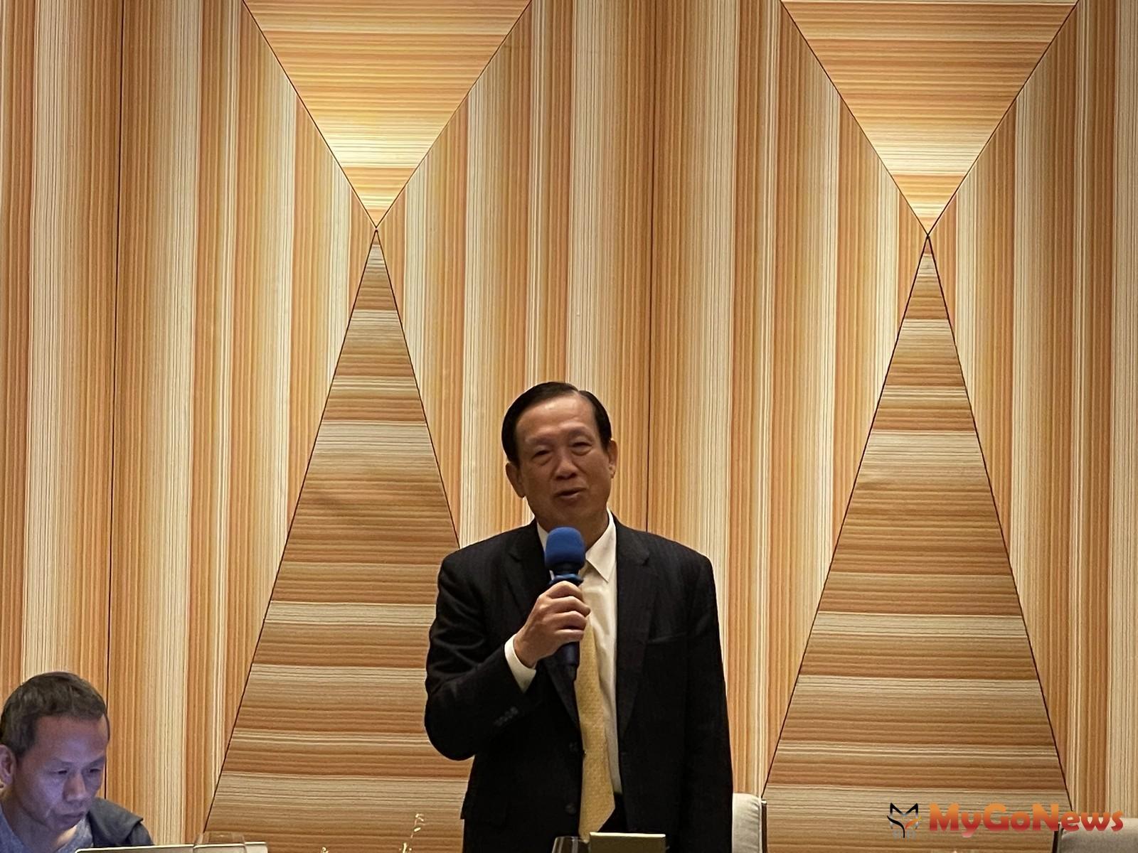 鄉林集團董事長賴正鎰2021年2月3日在年度記者會上,宣布鄉林集團的未來5年的「六大藍海策略」 MyGoNews房地產新聞 市場快訊