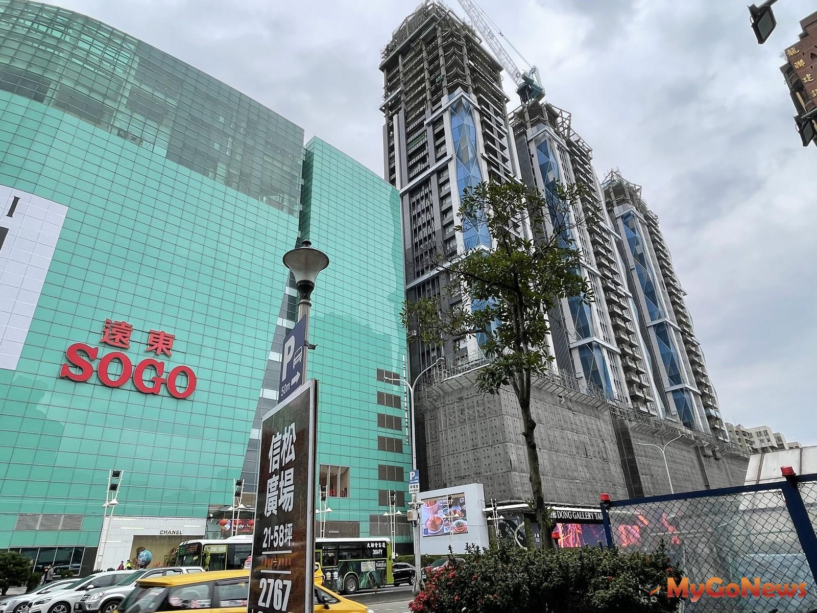 新光三越進駐「Diamond Towers」,開創東區商圈新紀元 MyGoNews房地產新聞 市場快訊