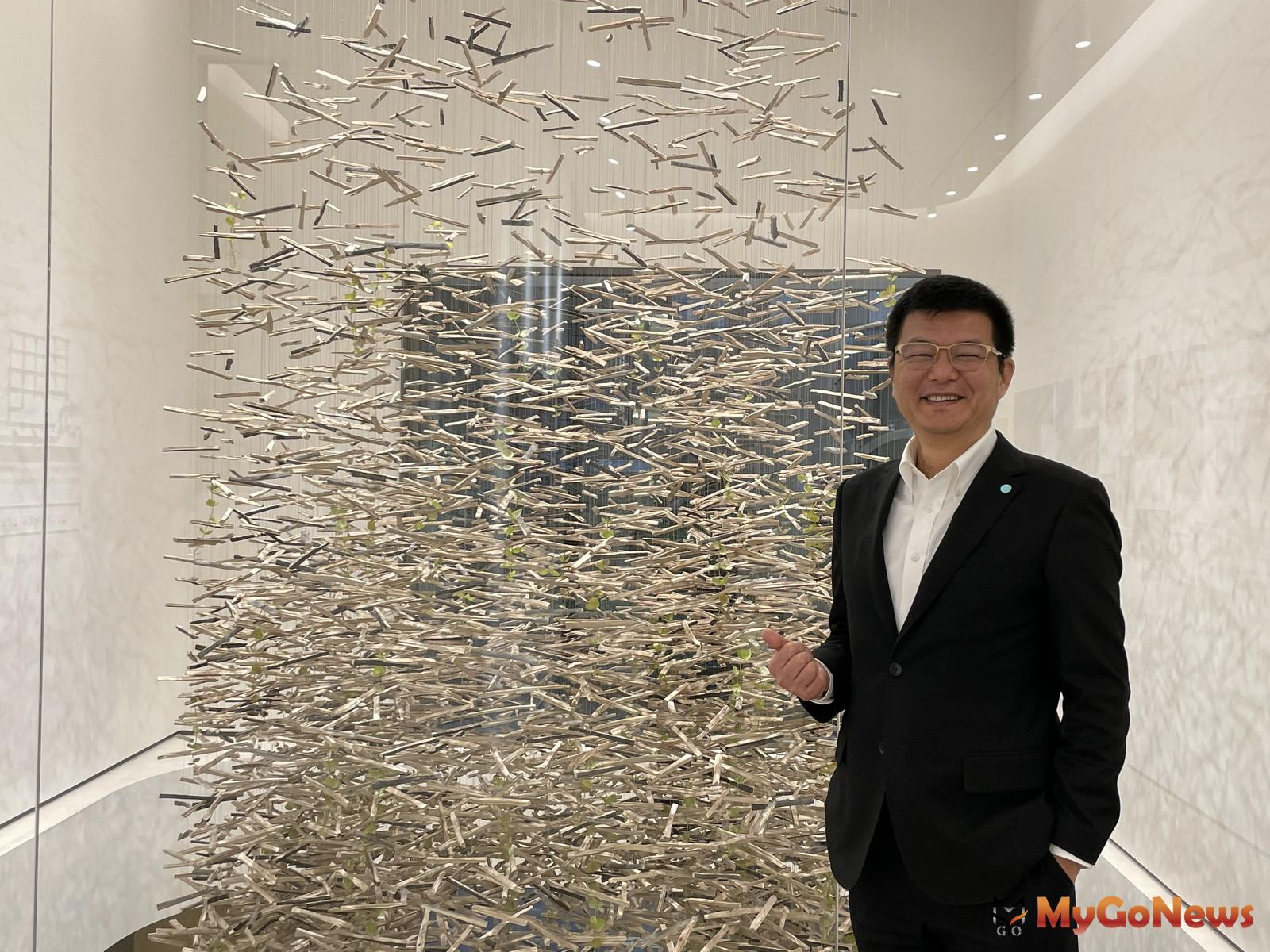 甲桂林廣告副總經理劉吉祥表示:「新美齊心居」受到菁英自住客的認同,目前銷售達8成。 MyGoNews房地產新聞 熱銷推案