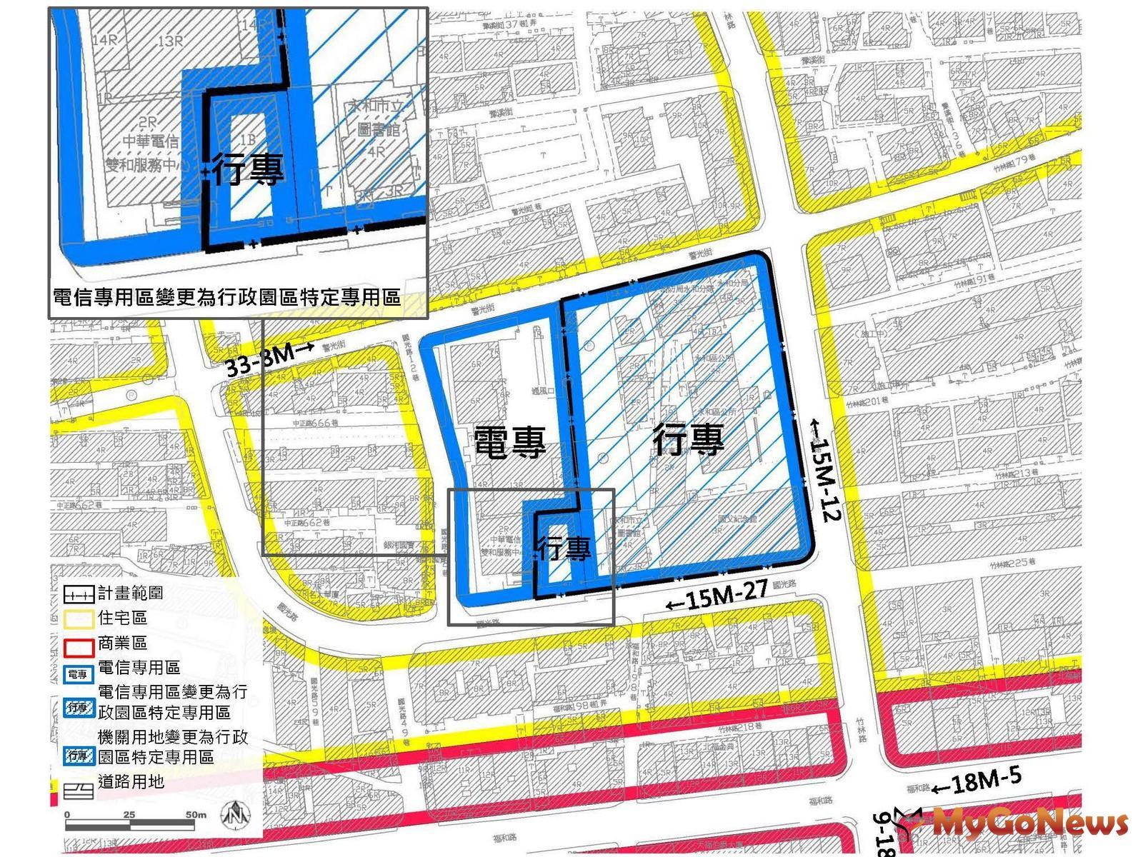 推動永和行政園區都市計畫變更 帶動地區整體發展(圖/新北市政府) MyGoNews房地產新聞 區域情報