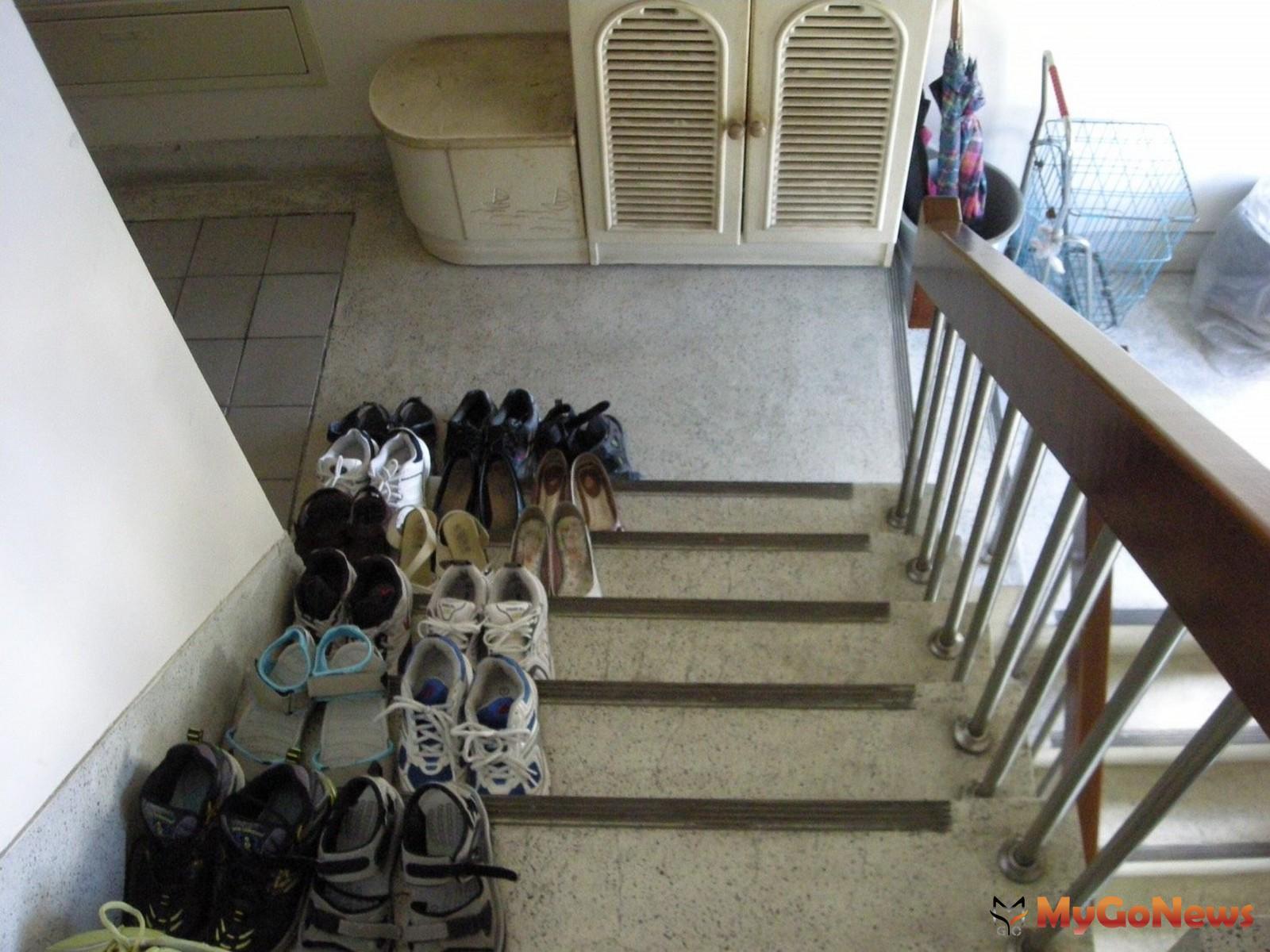 社區住戶走廊樓梯堆雜物妨礙出入,最少罰4萬元(圖/台北市政府) MyGoNews房地產新聞 安全家居