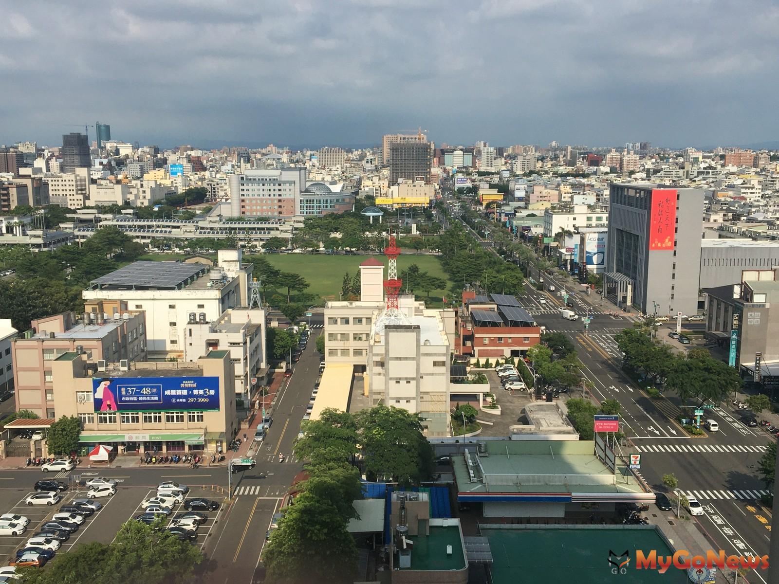 建物買賣移轉單位面積,台南最大、台北大縮水而且還最小(圖/中信房屋) MyGoNews房地產新聞 趨勢報導