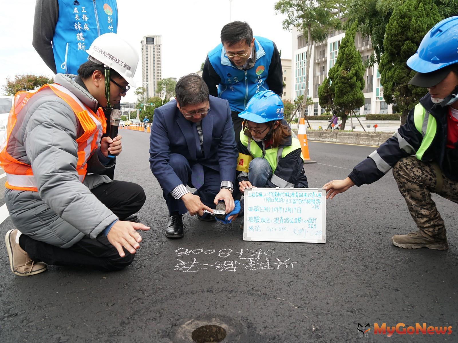 竹縣完成70處道路整平大獲好評 2021年再編列1.7億改善(圖/新竹縣政府) MyGoNews房地產新聞 區域情報