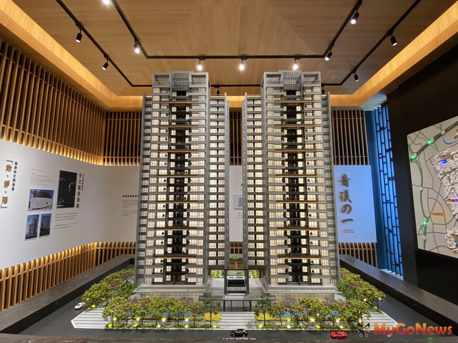 「東騰青一」雙塔凌空建築(圖/業主提供) MyGoNews房地產新聞 熱銷推案