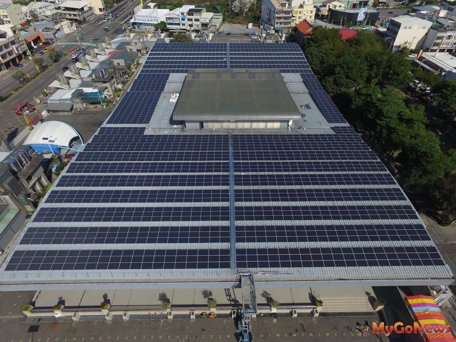 中市加碼補助設置太陽光電,工廠類建築物最高50萬元(圖/台中市政府) MyGoNews房地產新聞 區域情報