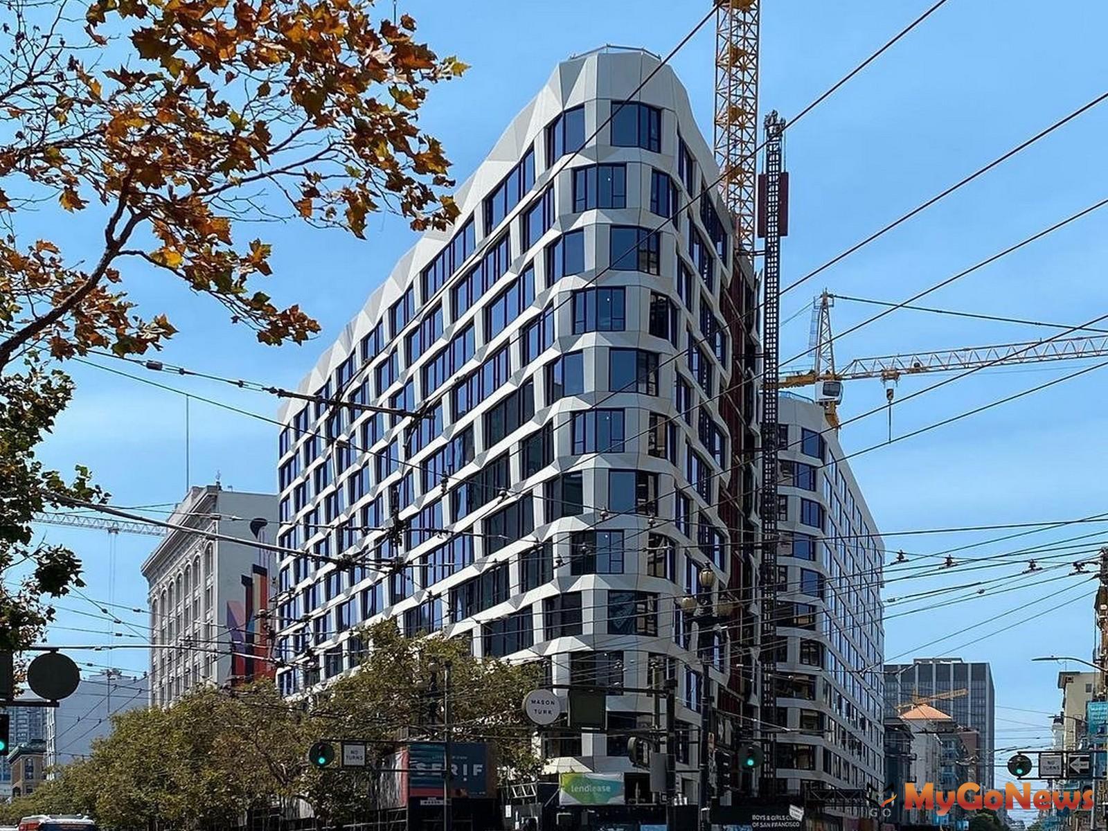 大陸建設首次跨足美國,搶佔舊金山Market Street與Turk Street交匯心臟地段,打造精品飯店宅「尚芮公寓SERIF」。 MyGoNews房地產新聞 熱銷推案