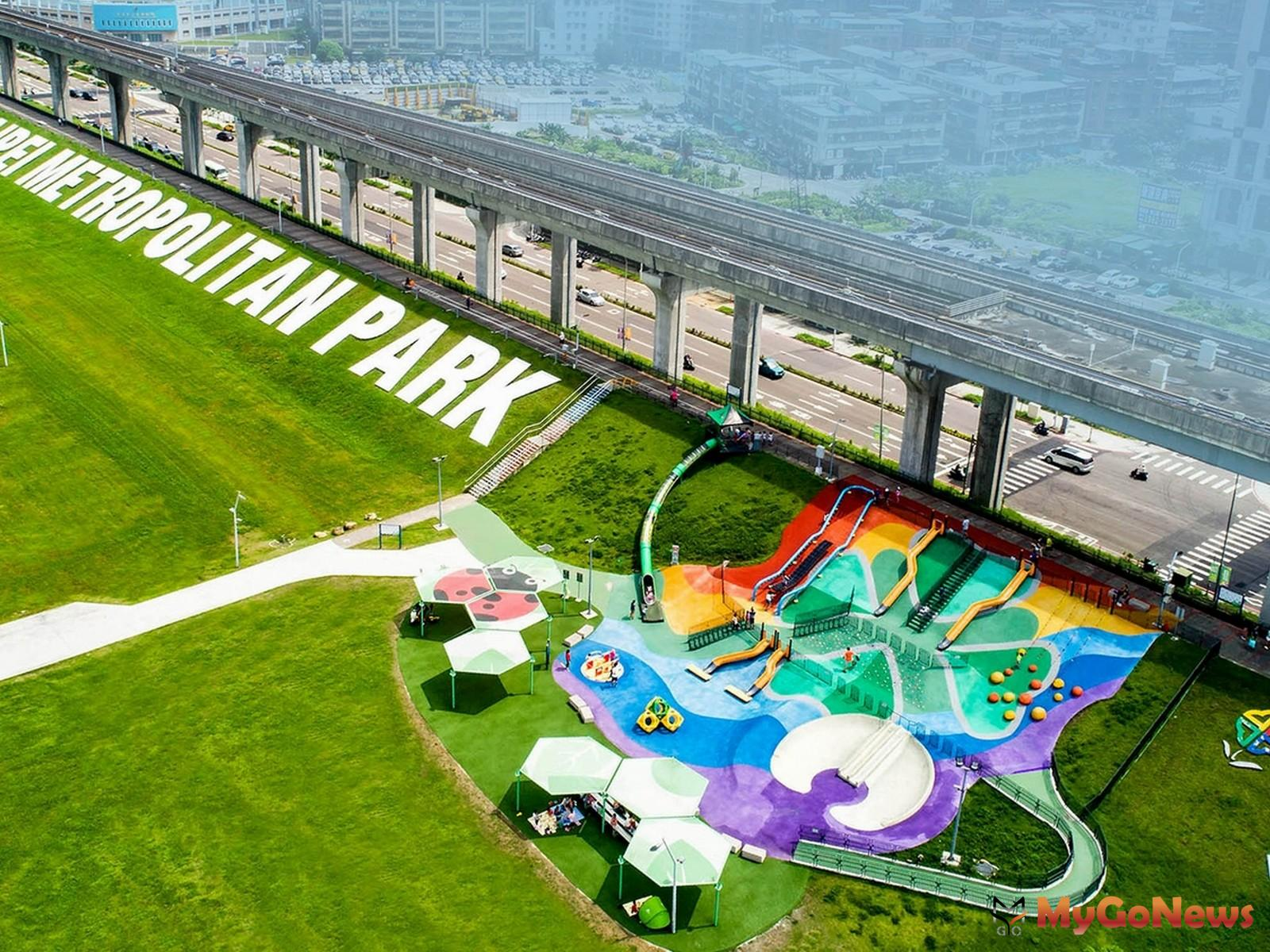 新北大都會公園。(圖/業者提供) MyGoNews房地產新聞 熱銷推案