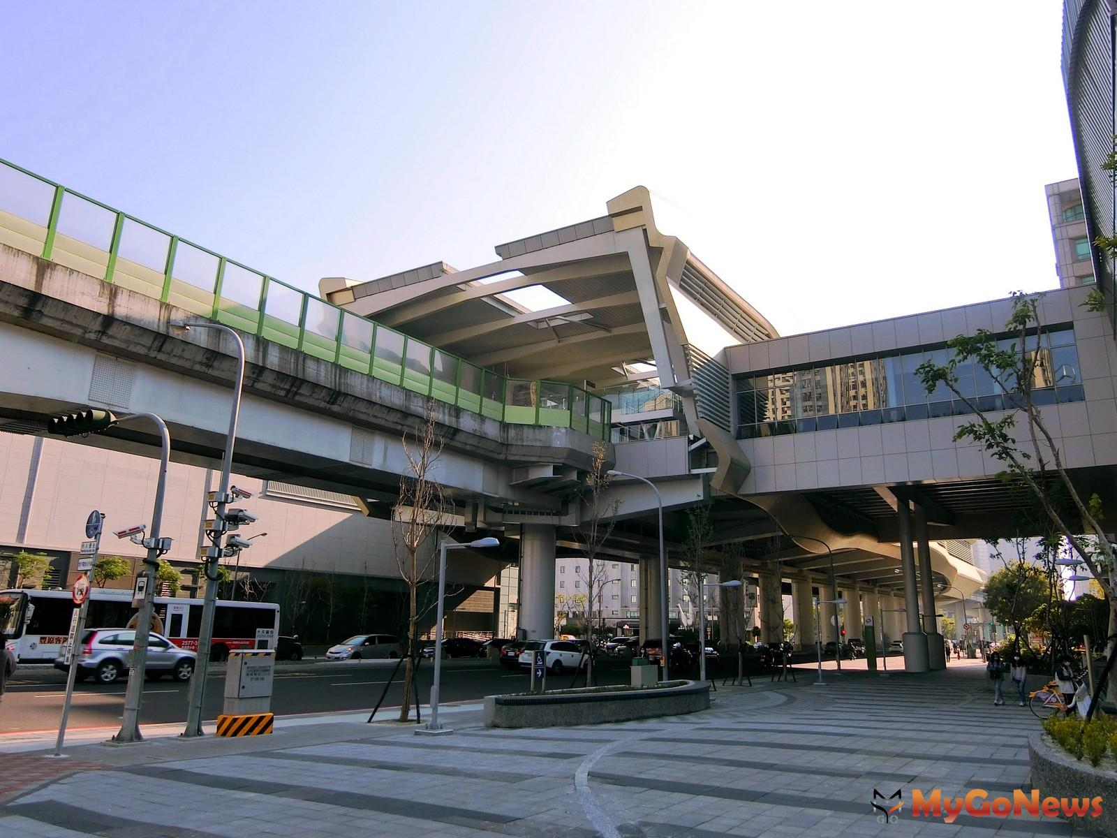 中捷運線的市政府站,新成屋與中古屋價差懸殊。(台灣房屋集團趨勢中心提供) MyGoNews房地產新聞 市場快訊