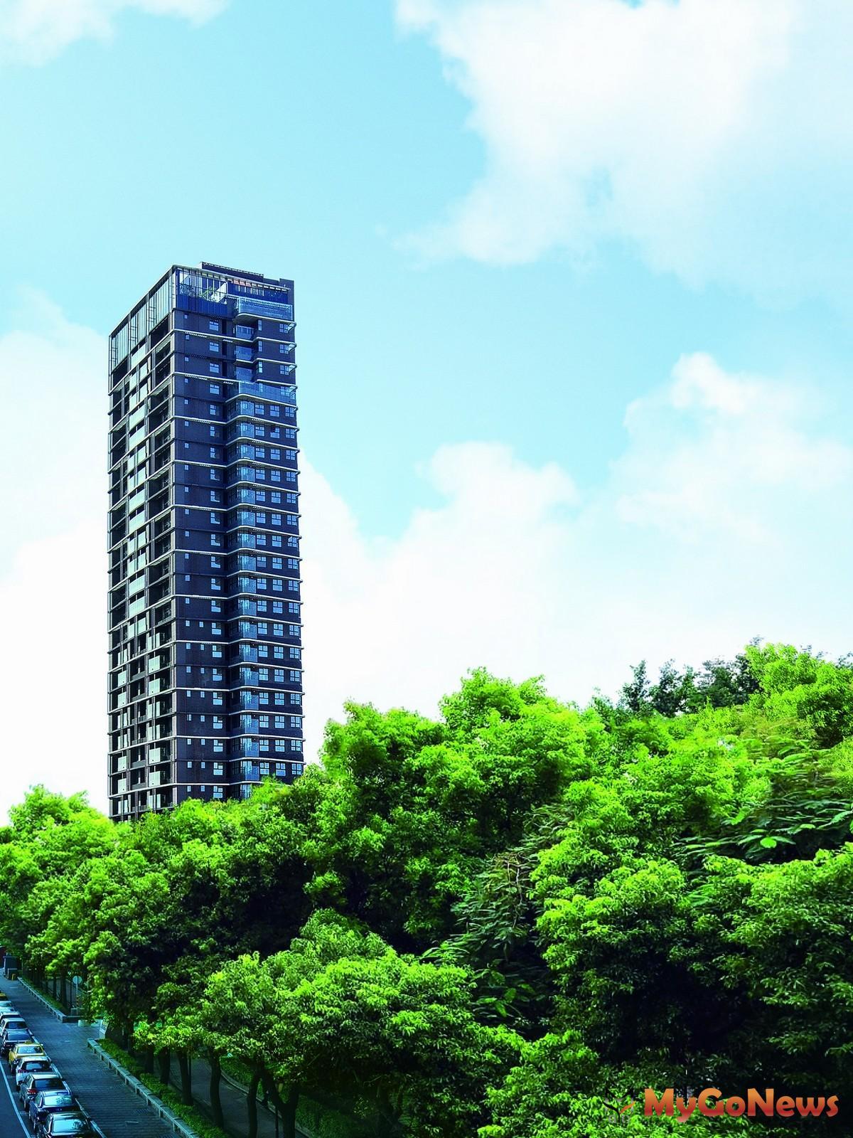 「昕彤觀瀾」打造台北橋上空摩天27層的水岸景觀地標建築鉅作。(圖/業者提供) MyGoNews房地產新聞 熱銷推案