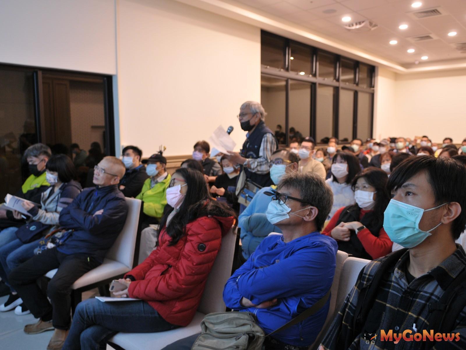 新北住都中心近日在大陳社區舉辦座談會,邀請上百位住戶到場參與。(新北住都中心提供) MyGoNews房地產新聞 區域情報