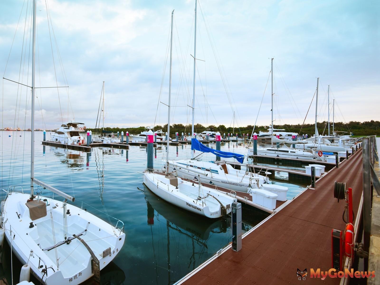 市政新灣區最大亮點「安平國際遊艇城」。圖/ 興富發提供 MyGoNews房地產新聞 熱銷推案