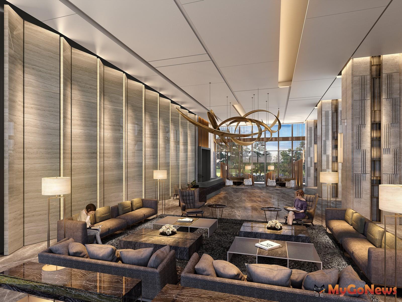 豪宅推手張真一,規劃星級飯店式公設,讓住戶回家更勝度假。圖/ 興富發提供 MyGoNews房地產新聞 熱銷推案