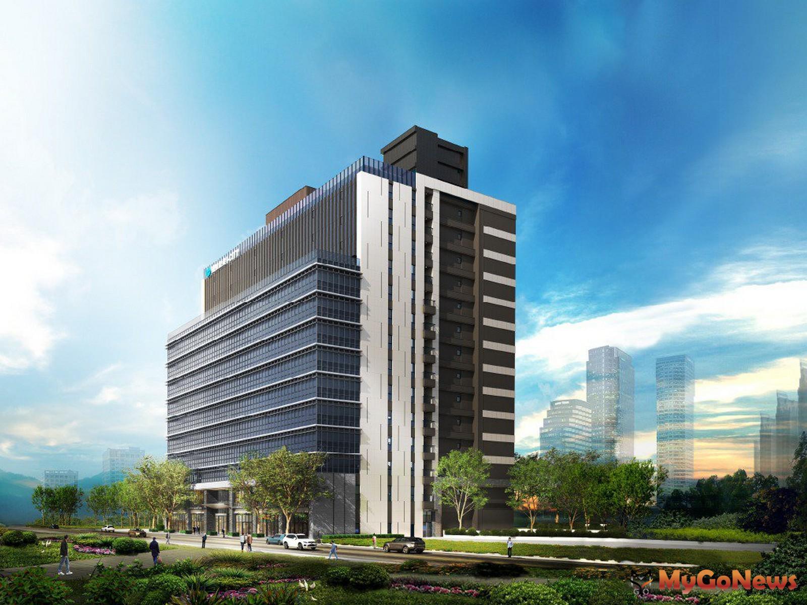 遠雄建設與上市紡織大廠聯手在南港打造人性化的企業總部「遠雄宜進I-CITY」。圖/業者提供 MyGoNews房地產新聞 熱銷推案
