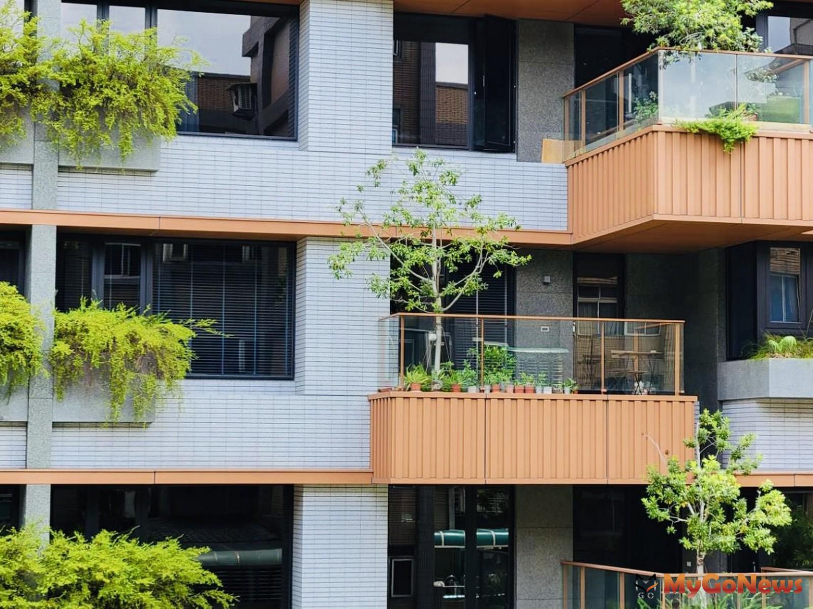 綠建築每年可省下約86億的水電費,可買下22戶的帝寶豪宅,圖為位於新北蘆洲的綠建築-陸江聚(圖-台灣房屋) MyGoNews房地產新聞 市場快訊