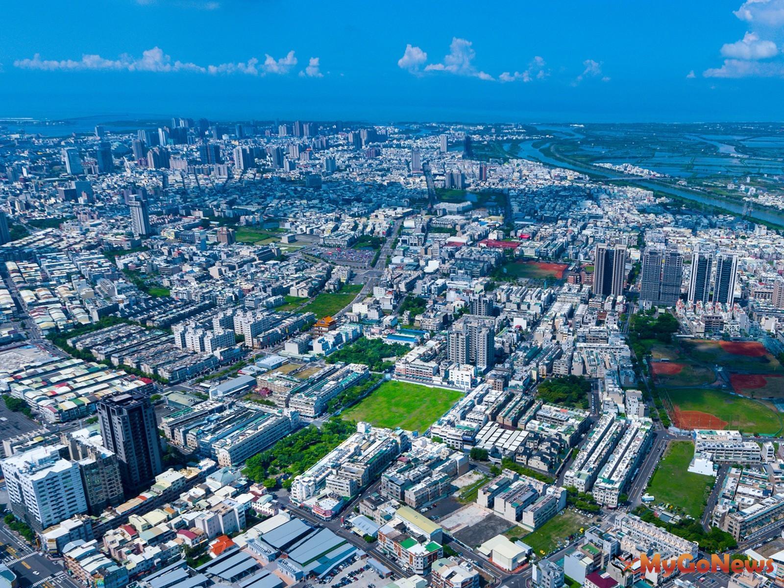 鄭子寮重劃區位於台南市北區正核心區位,且擁有市中心稀有高綠覆率、低密度優勢。(圖/業者提供) MyGoNews房地產新聞 熱銷推案