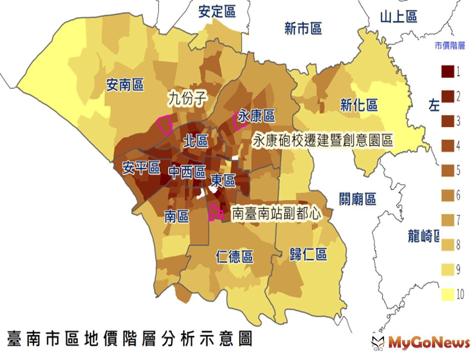 智慧台南讓地價創新精進,地政局藉由大數據檢視地價變動及衡平性(圖/台南市政府) MyGoNews房地產新聞 區域情報