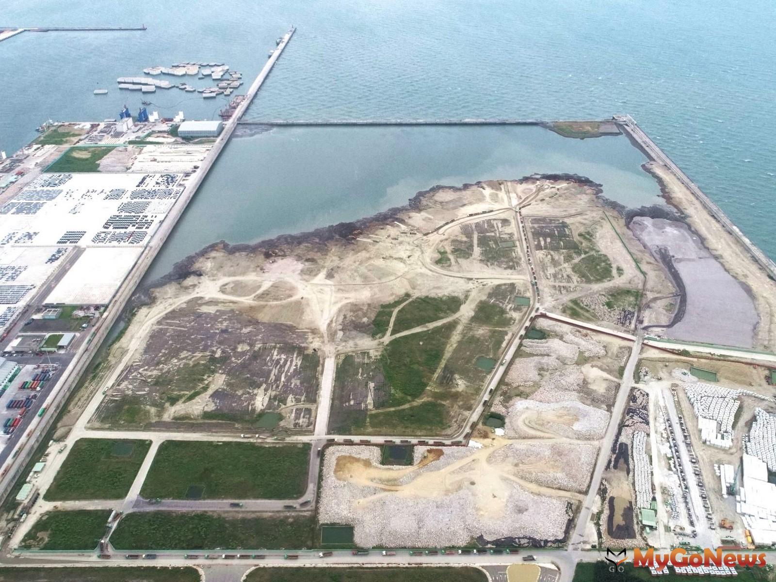 為配合公共工程推動及循環經濟政策,加速提升台北港收土量(圖/交通部) MyGoNews房地產新聞 市場快訊