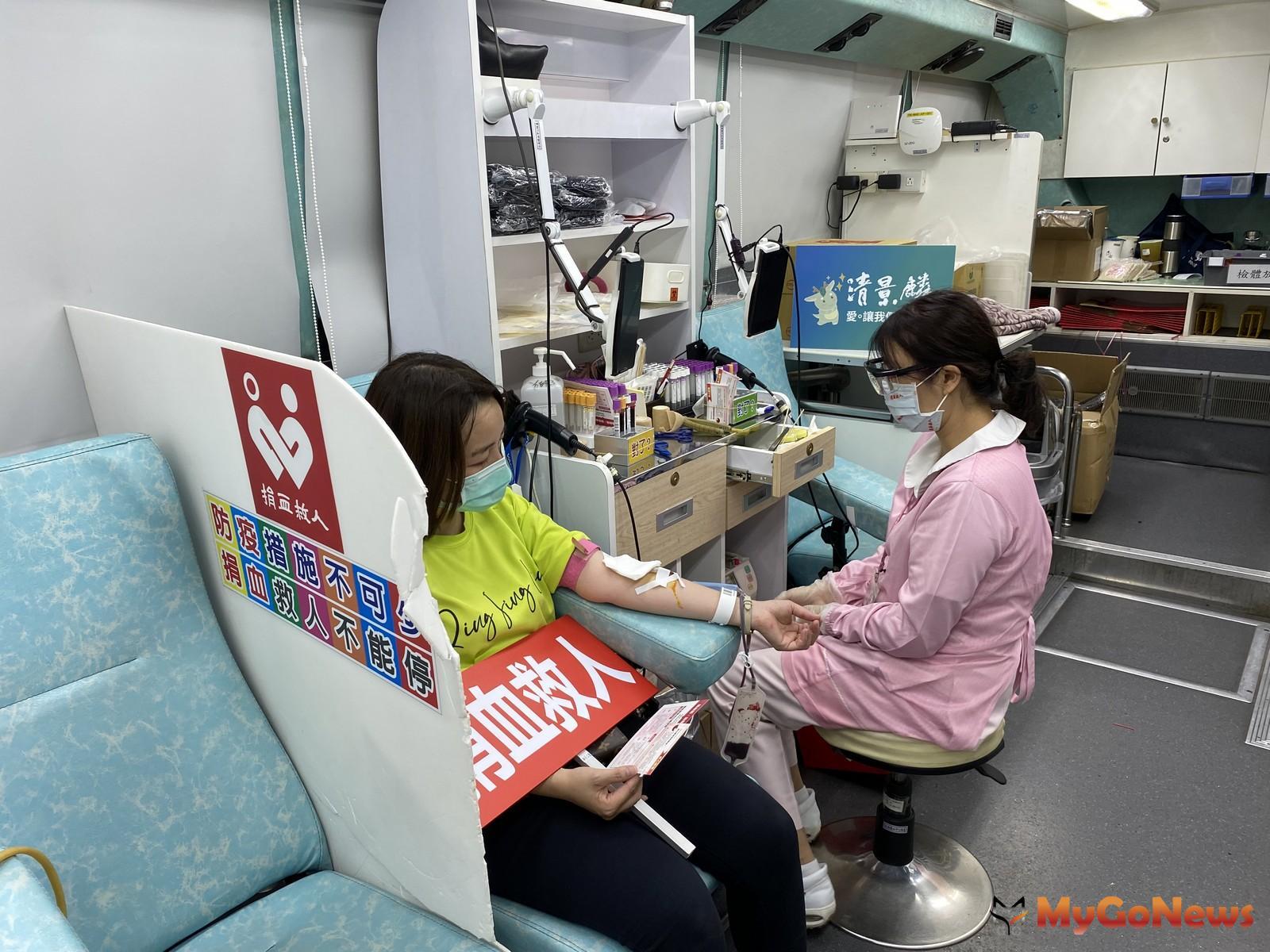 台南捐血中心呼籲想捐血的民眾,可以至捐血中心網站查詢定點,或先線上預約減少等候時間,並且防疫分流管理,不用過度擔心(圖/清景麟建築團隊)  MyGoNews房地產新聞 市場快訊