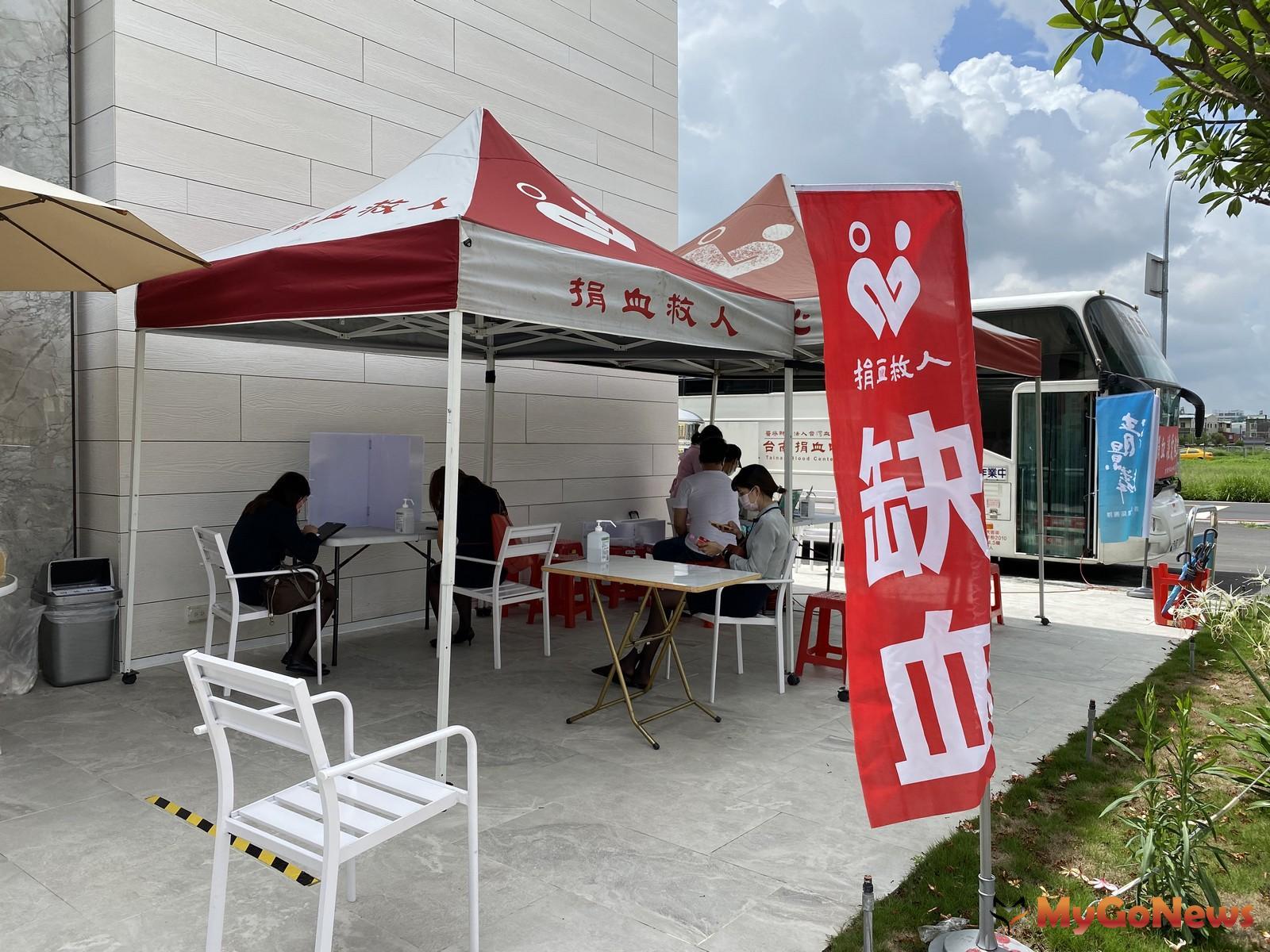 清景麟企業就主動聯繫可以讓員工響應,甚至還讓員工從嘉義,台南, 高雄一起來,並做好分流規劃,覺得十分暖心。(圖/清景麟建築團隊)  MyGoNews房地產新聞 市場快訊