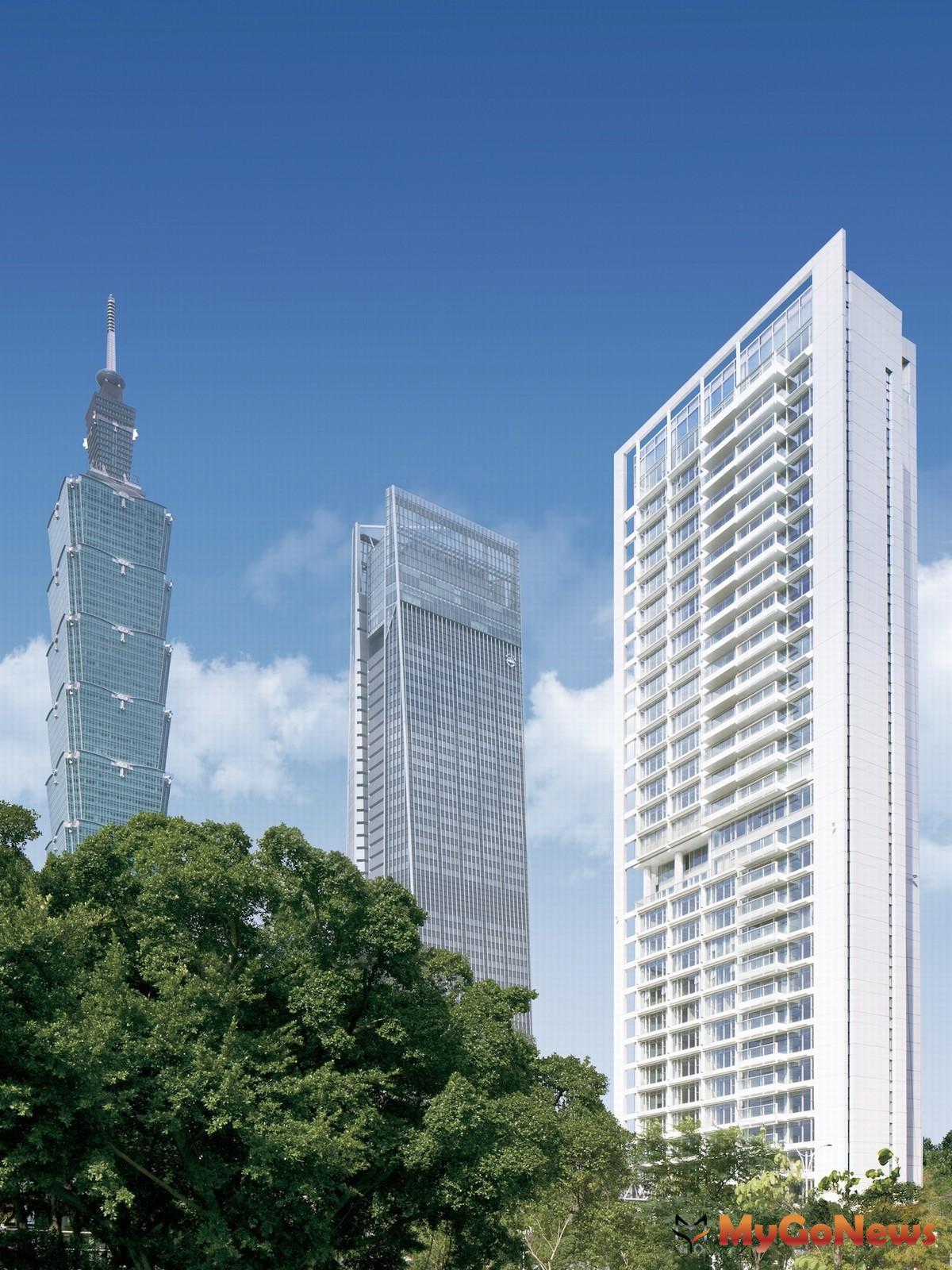 「琢白」完工後即被國際建築媒體報導為「世界級建築作品」(圖/業者提供) MyGoNews房地產新聞 熱銷推案