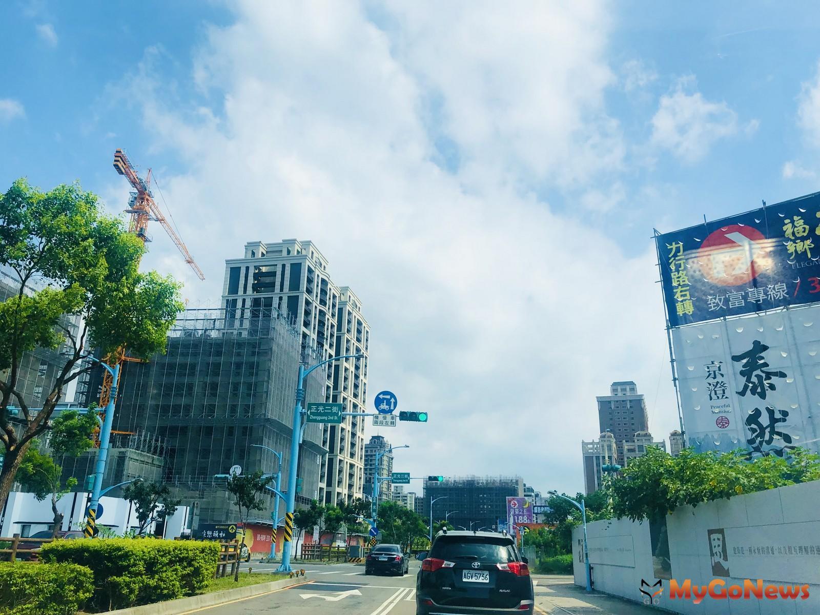 2021年第一季桃園購屋最熱路段,由桃園區中路重劃區的「 正光二街」摘冠(圖/台灣房屋) MyGoNews房地產新聞 市場快訊
