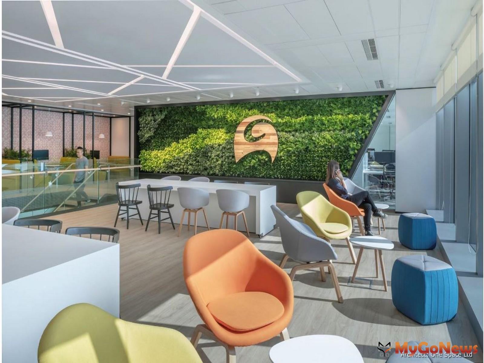 凱諦思香港辦公室榮獲業界推崇的美國綠色建築委員會LEED金級認證(圖/業者提供) MyGoNews房地產新聞 市場快訊