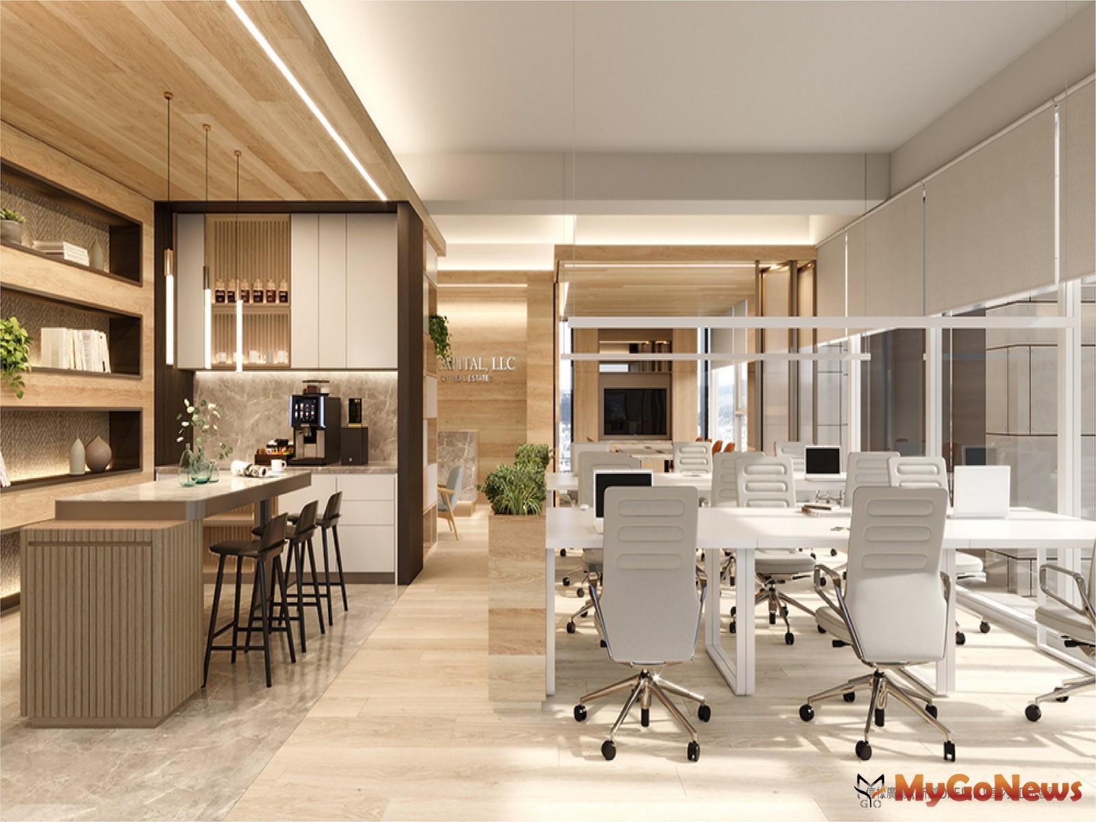 信松廣場「新創OFFICE」室內3D示意圖。(圖/業者提供) MyGoNews房地產新聞 熱銷推案