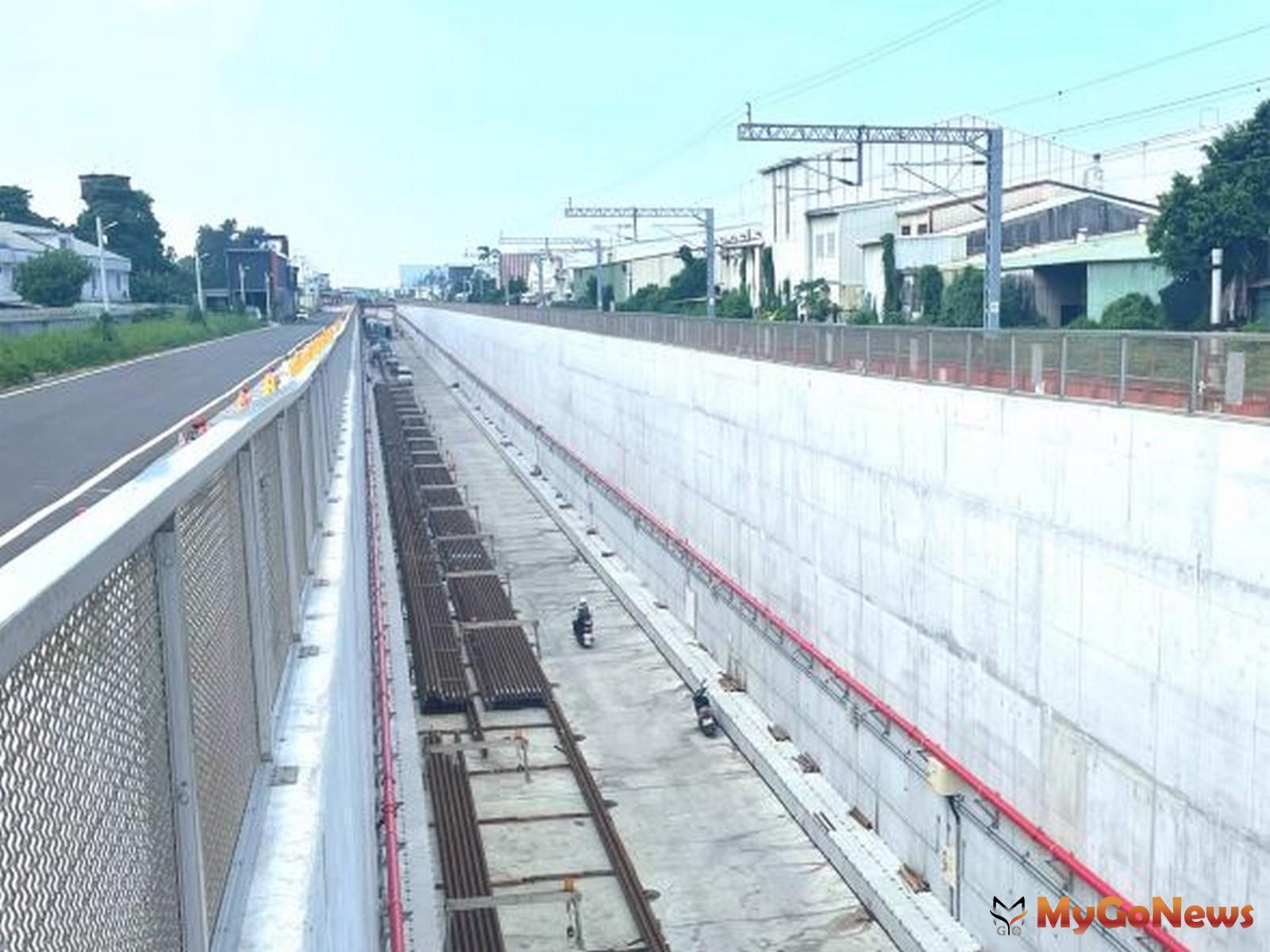 台南鐵路地下化計畫工程進度已過半,施工全面開展(圖/交通部) MyGoNews房地產新聞 區域情報