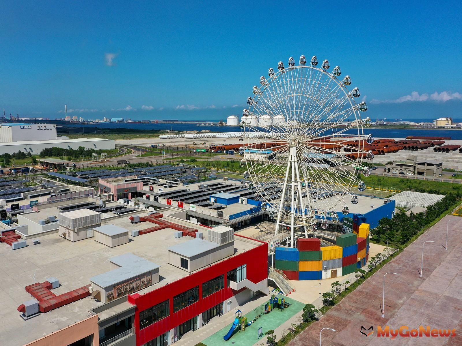台中港三井OUTLET 2.0 計畫,2021年下半年將開幕二期營運,台中海線港灣城市生活機能精彩可期。圖/業者提供 MyGoNews房地產新聞 熱銷推案