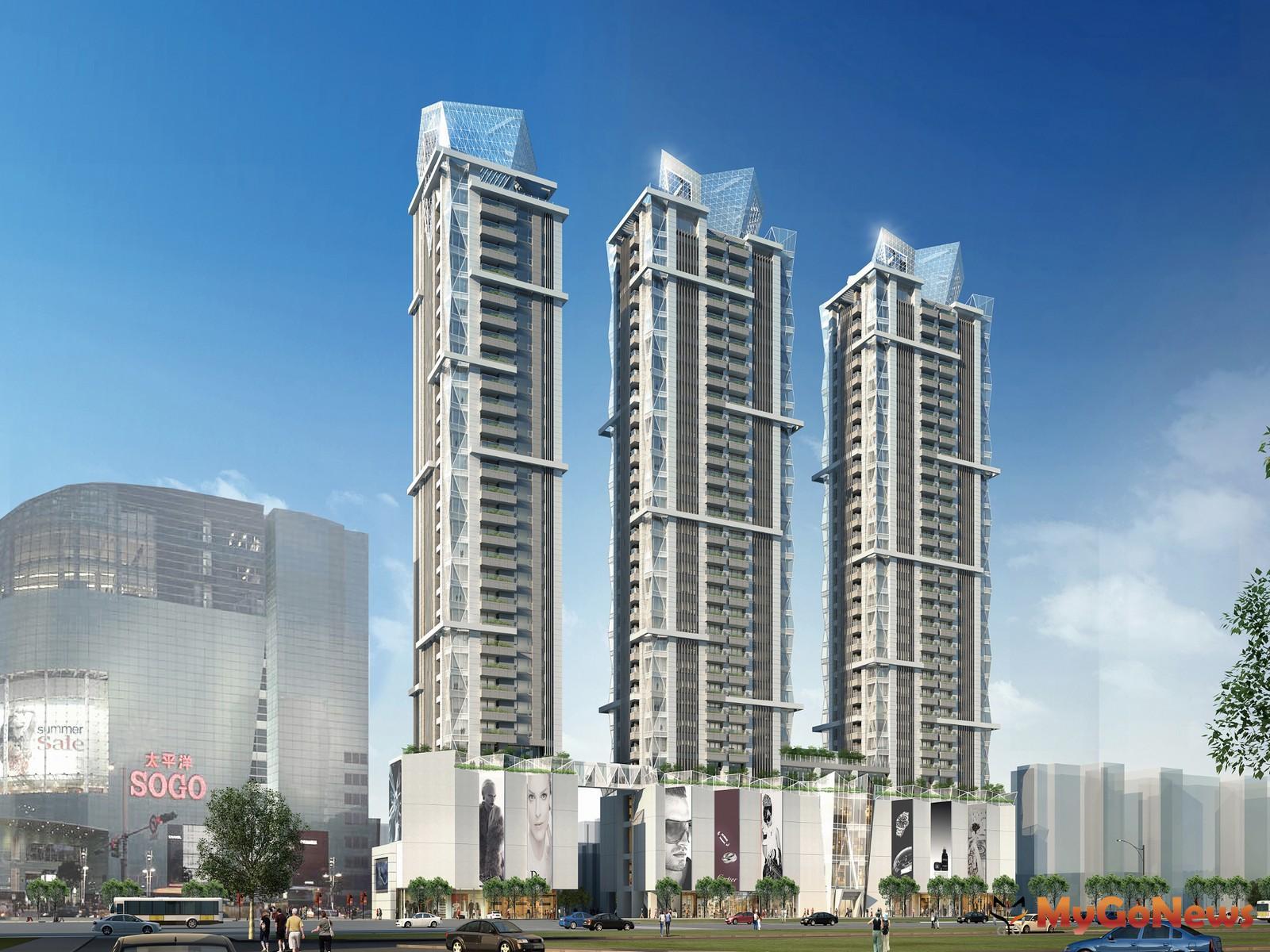 新光三越正式簽約「Diamond Towers」,引領東區商圈新紀元(圖/戴德梁行)  MyGoNews房地產新聞 市場快訊