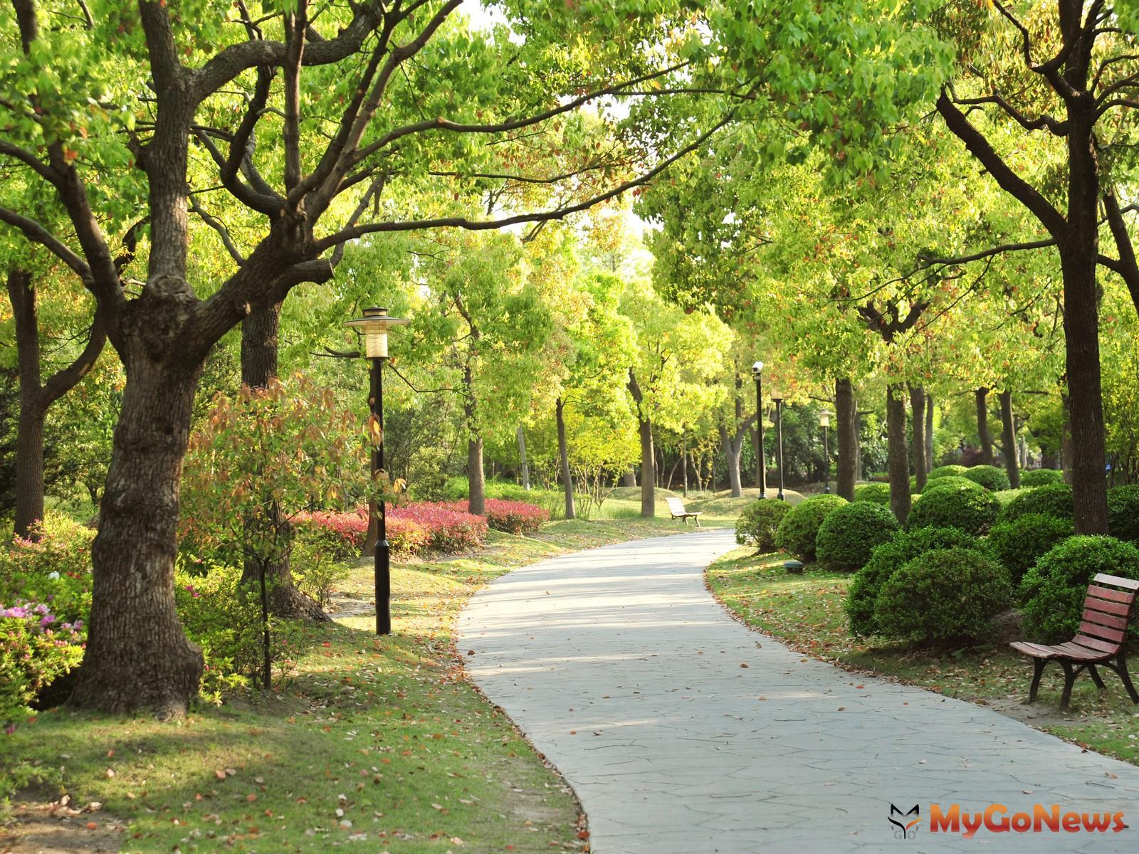 規劃60米綠園道,漫步在綠樹環抱間,彷彿走進一座公園,塑造了一種由喧囂至寧靜、回家的儀式感。(示意圖) MyGoNews房地產新聞 專題報導