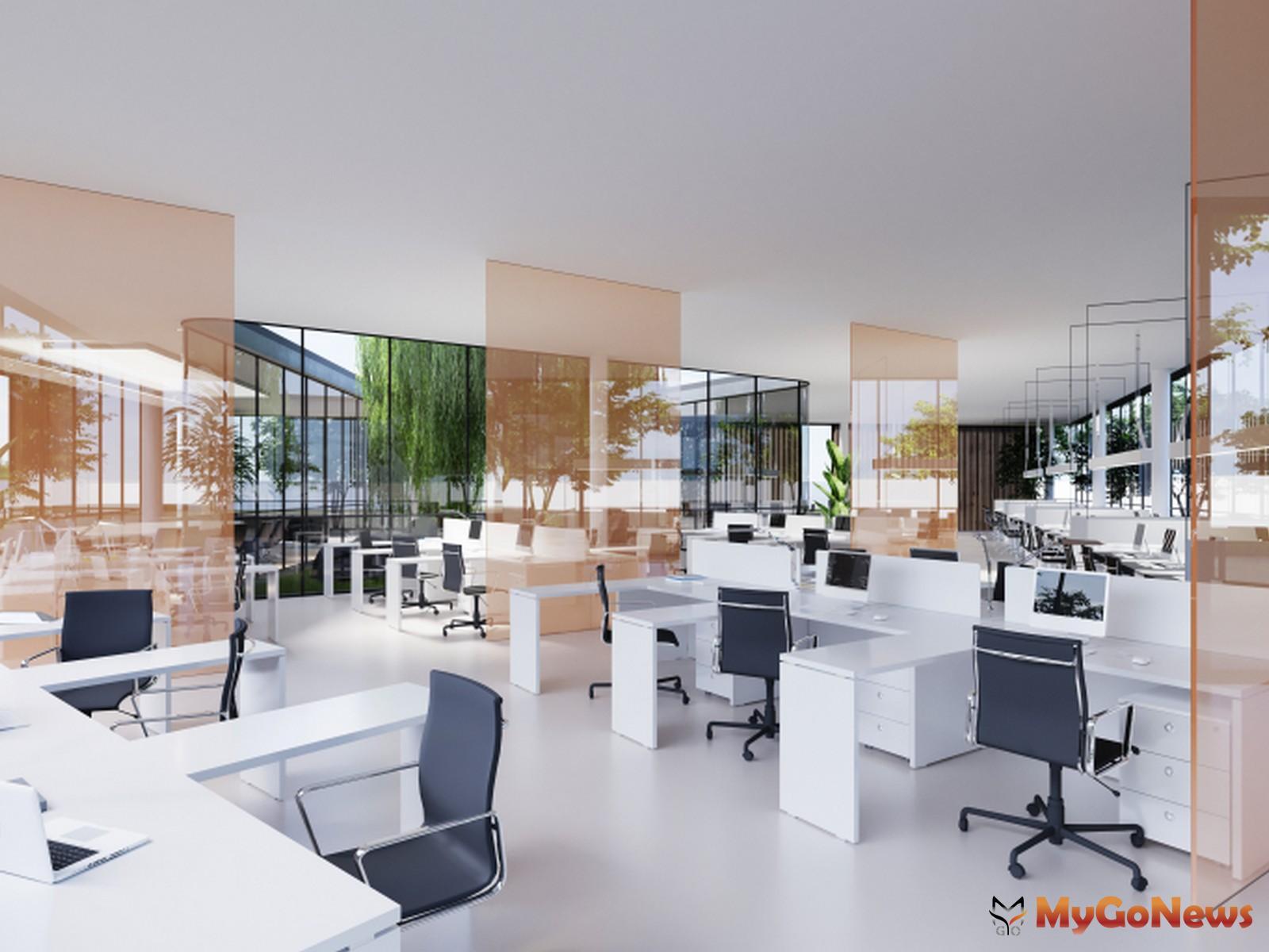 高力國際認為越來越多企業能接受或開始思考辦公室由過去一人一位的傳統辦公模式,邁入沒有固定座位的彈性辦公室階段(圖/高力國際) MyGoNews房地產新聞 趨勢報導
