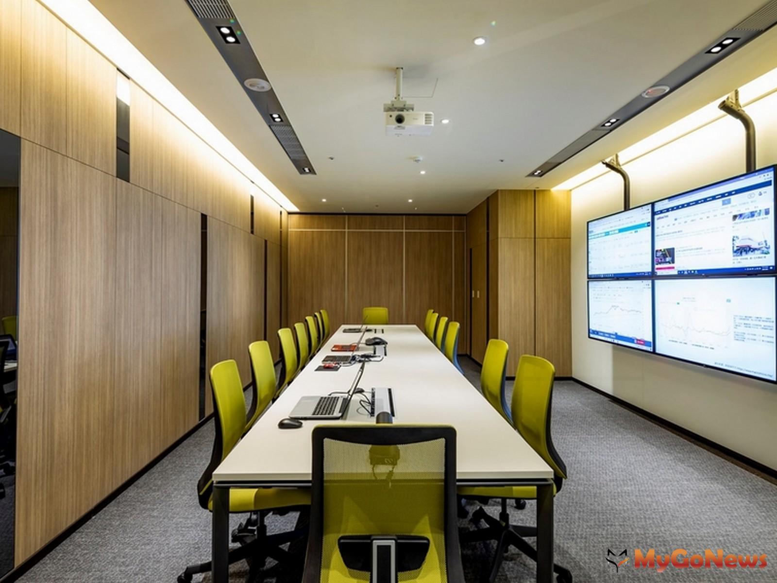 國際多媒體會議室(圖/業者提供) MyGoNews房地產新聞 熱銷推案