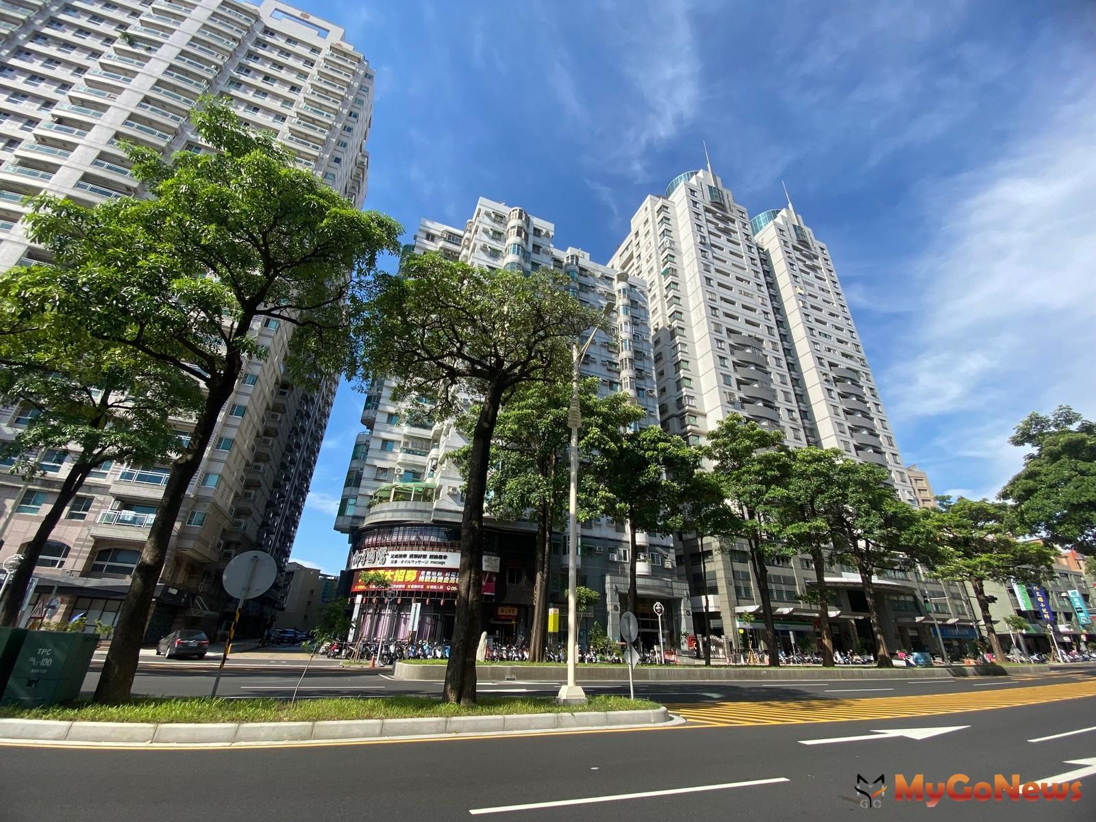 台南公園南側的公園南路上,中古大樓供給占最大量! (圖片永慶不動產提供) MyGoNews房地產新聞 市場快訊