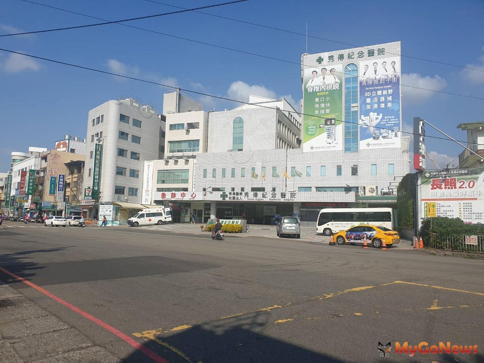 秀傳醫院為彰化市指標醫學中心(圖/東森房屋) MyGoNews房地產新聞 區域情報