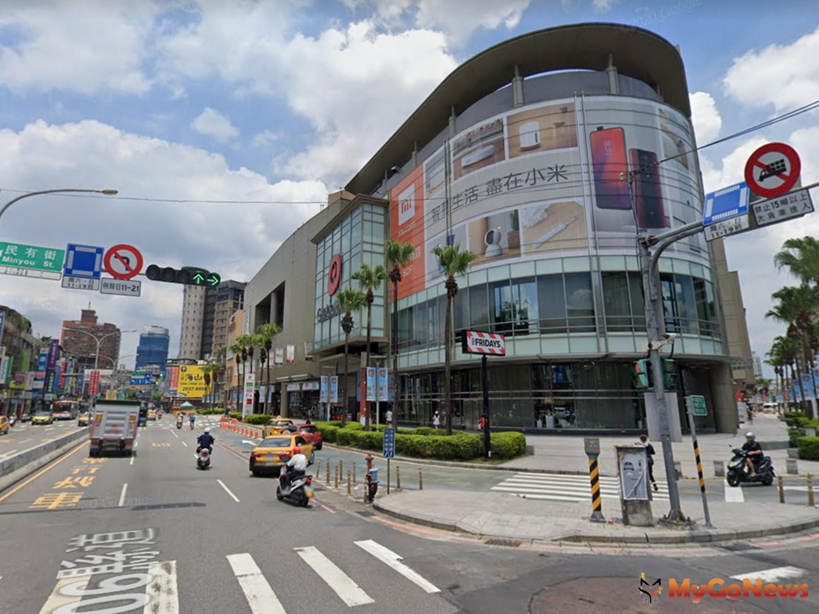 中和環球購物中心為區域內熱門指標(圖/東森房屋) MyGoNews房地產新聞 市場快訊