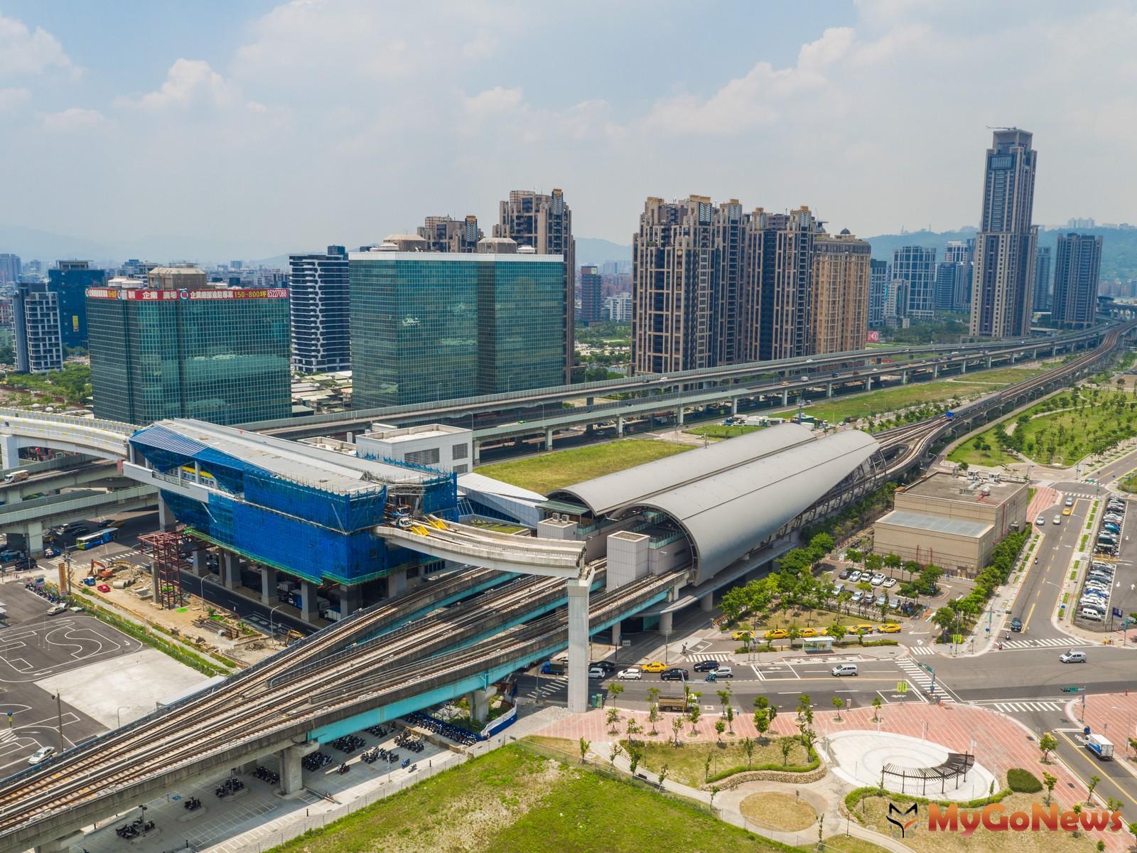 新北因房價較親民加上多條捷運路線建設,吸引脫北及北漂人口移入(圖/鄉林不動產) MyGoNews房地產新聞 趨勢報導