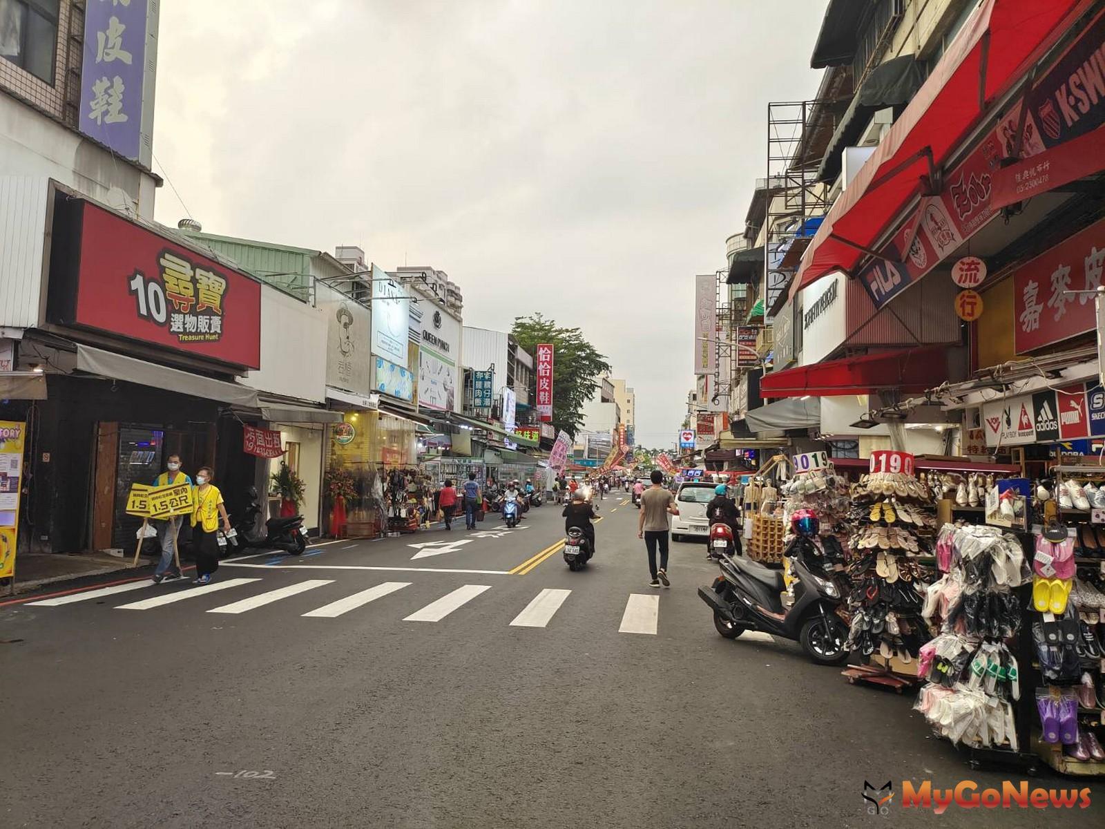 嘉義文化路商圈,大樓5年房價漲54%(圖/東森房屋) MyGoNews房地產新聞 區域情報